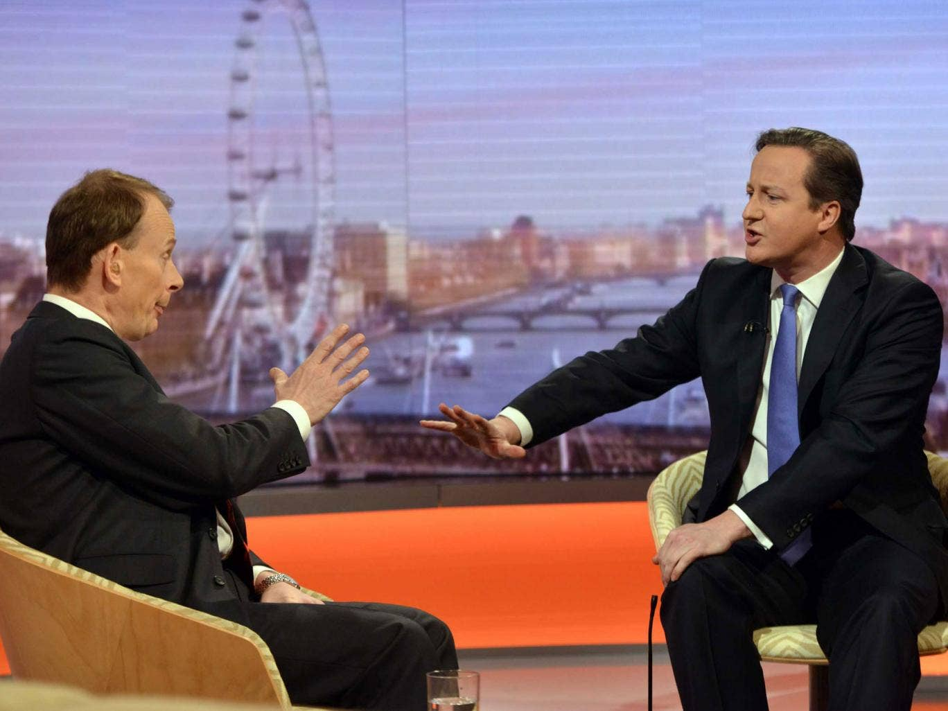 David Cameron sidestepped awkward questions on pensioner benefits on 'The Andrew Marr Show'