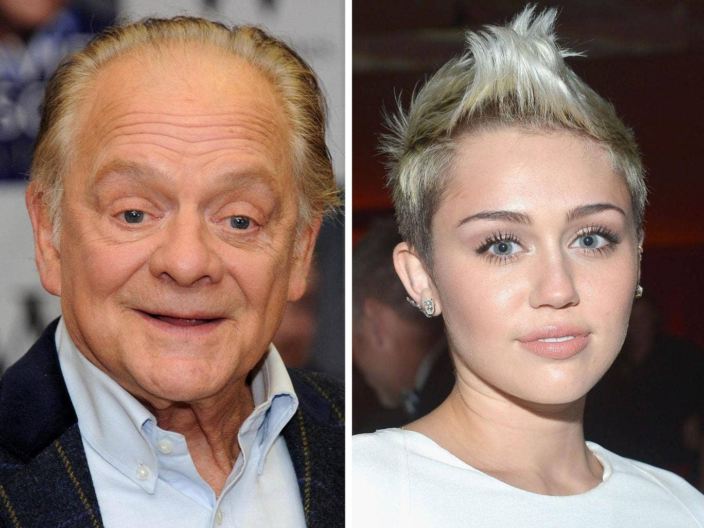 Quite why David Jason waded in on the whole 'Miley Cyrus is a bad role model' debate remains somewhat unclear.