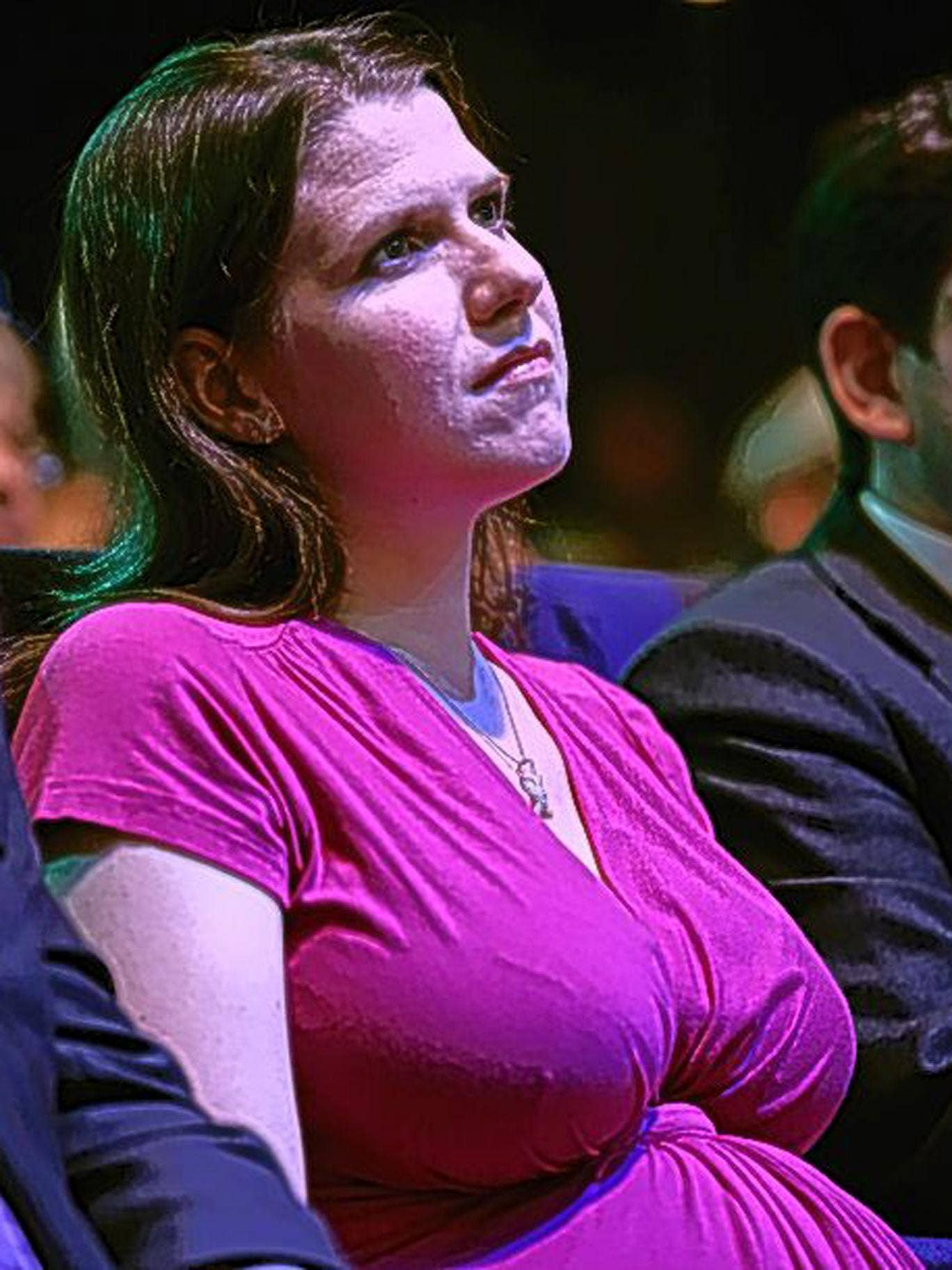 Swinson criticised the fact that MPs do not automatically get maternity leave