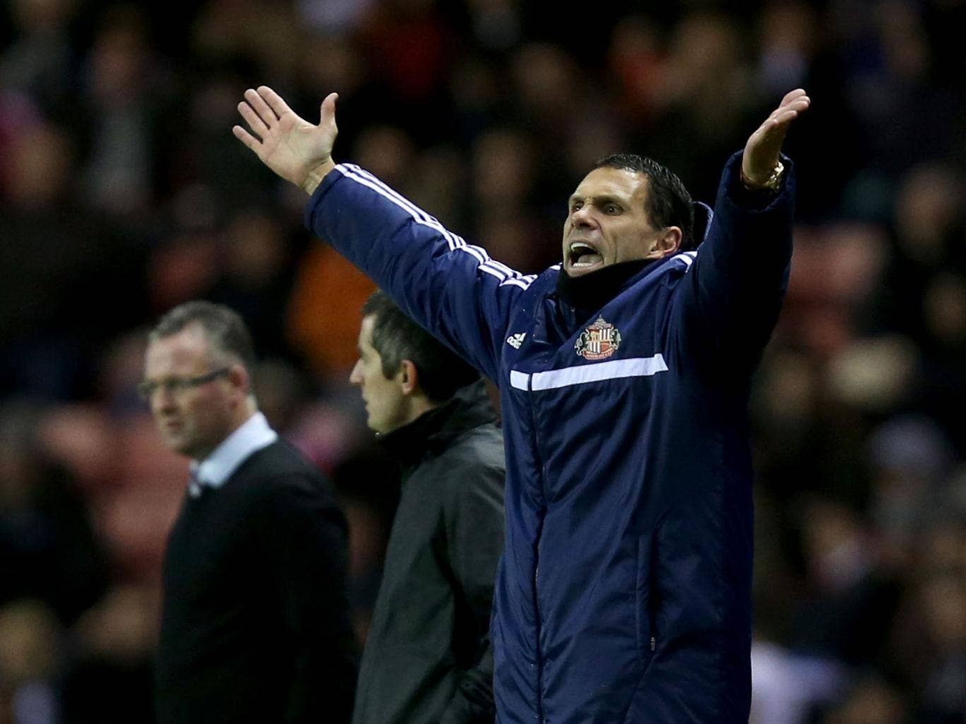 Gus Poyet has seen his Sunderland side thrive in the cups, having won just three times in the league