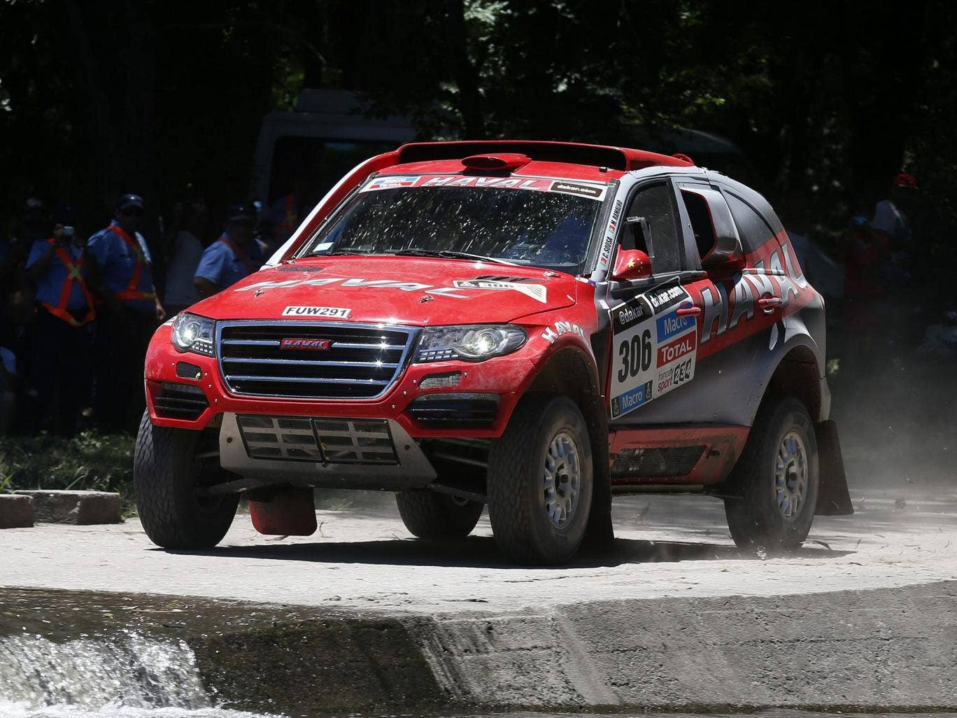 Portuguese driver Carlos Sousa in action during the first stage of the Rally Dakar 2014