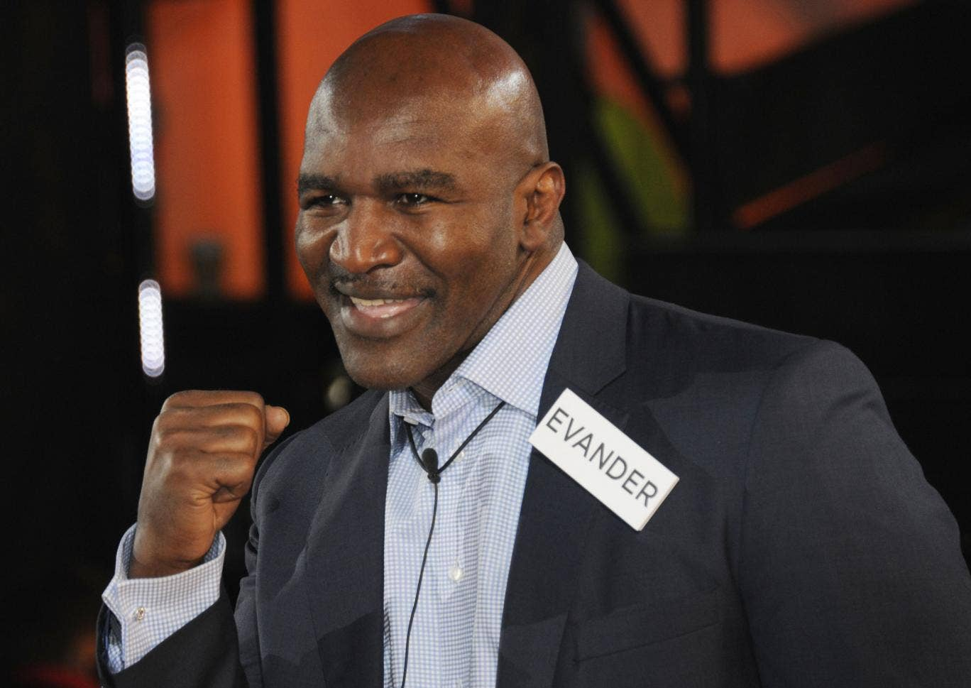 Evander Holyfield sparked controversy shortly after entering the Celebrity Big Brother house
