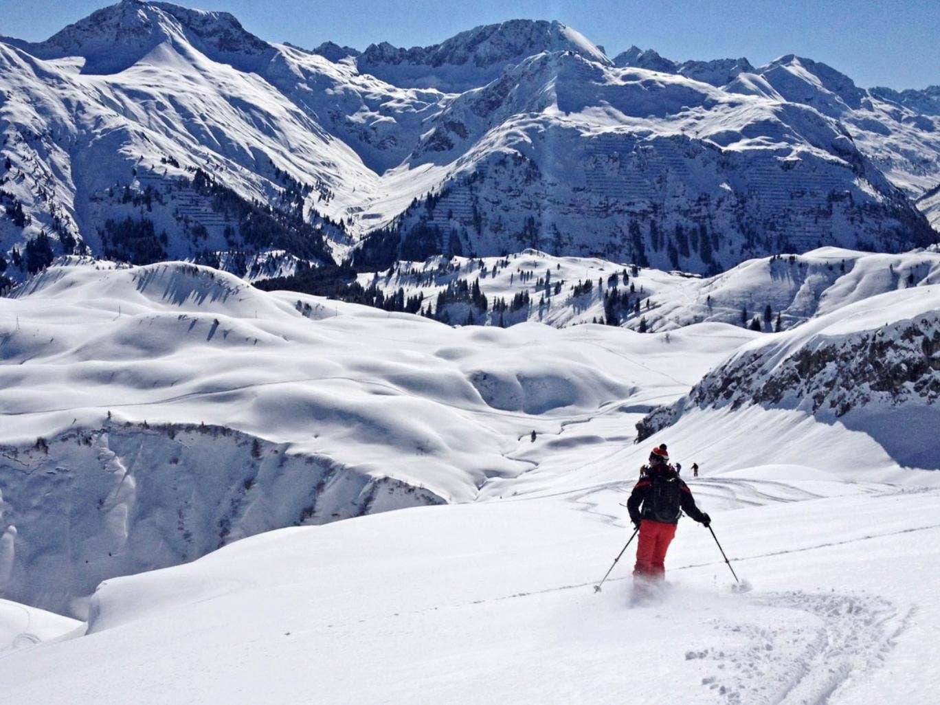 The best of Lech: skiing the surrounding pistes