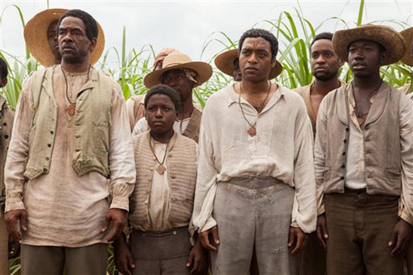 Chiwetel Ejiofor stars as kidnapped slave Solomon Northup in 12 Years A Slave, the bookmakers' favourite for Best Actor