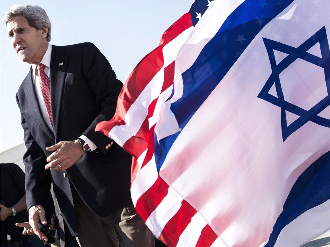 US Secretary of State John Kerry in Israel earlier this week