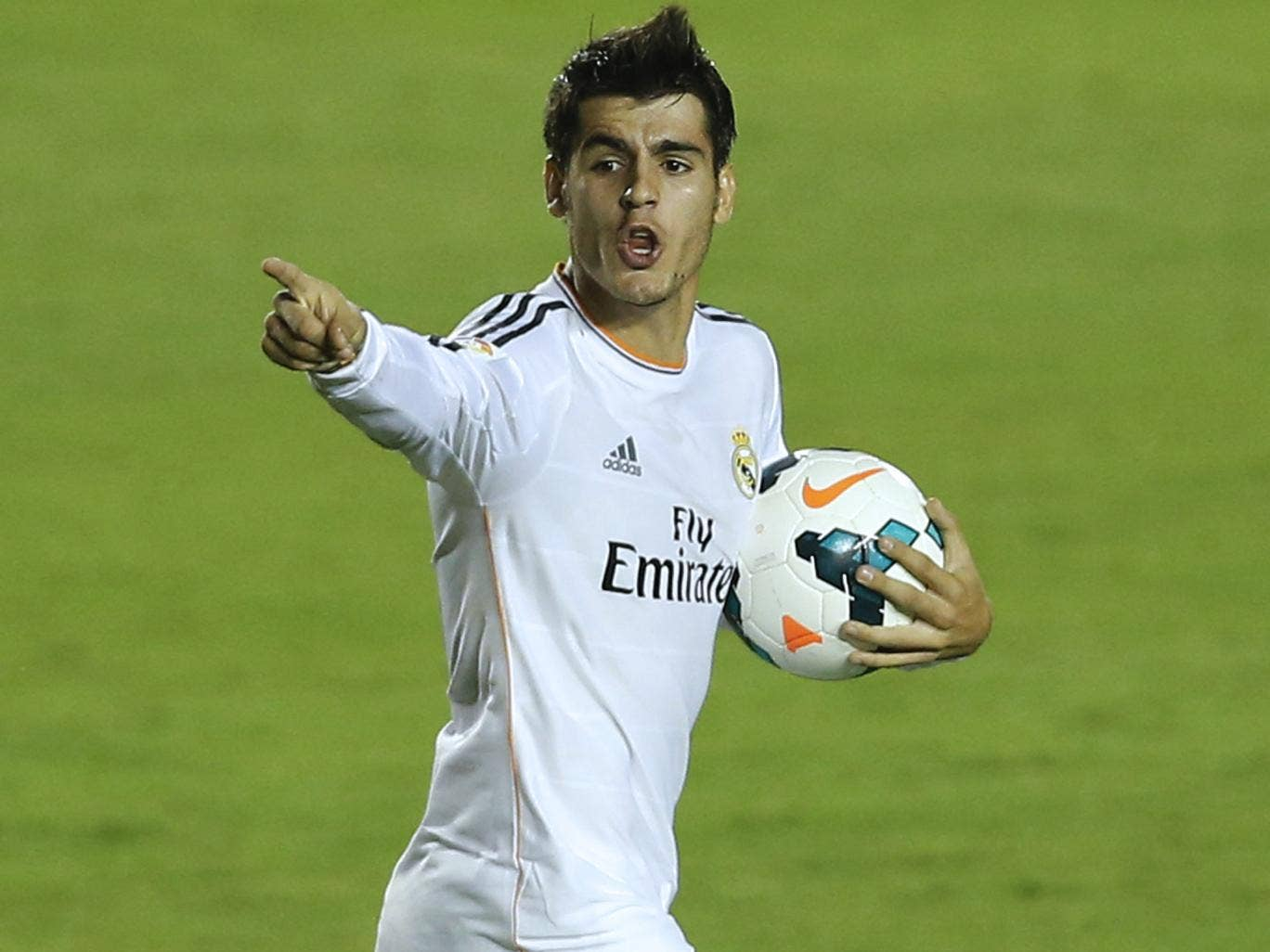 Alvaro Morata's first-team chances have been limited at Real