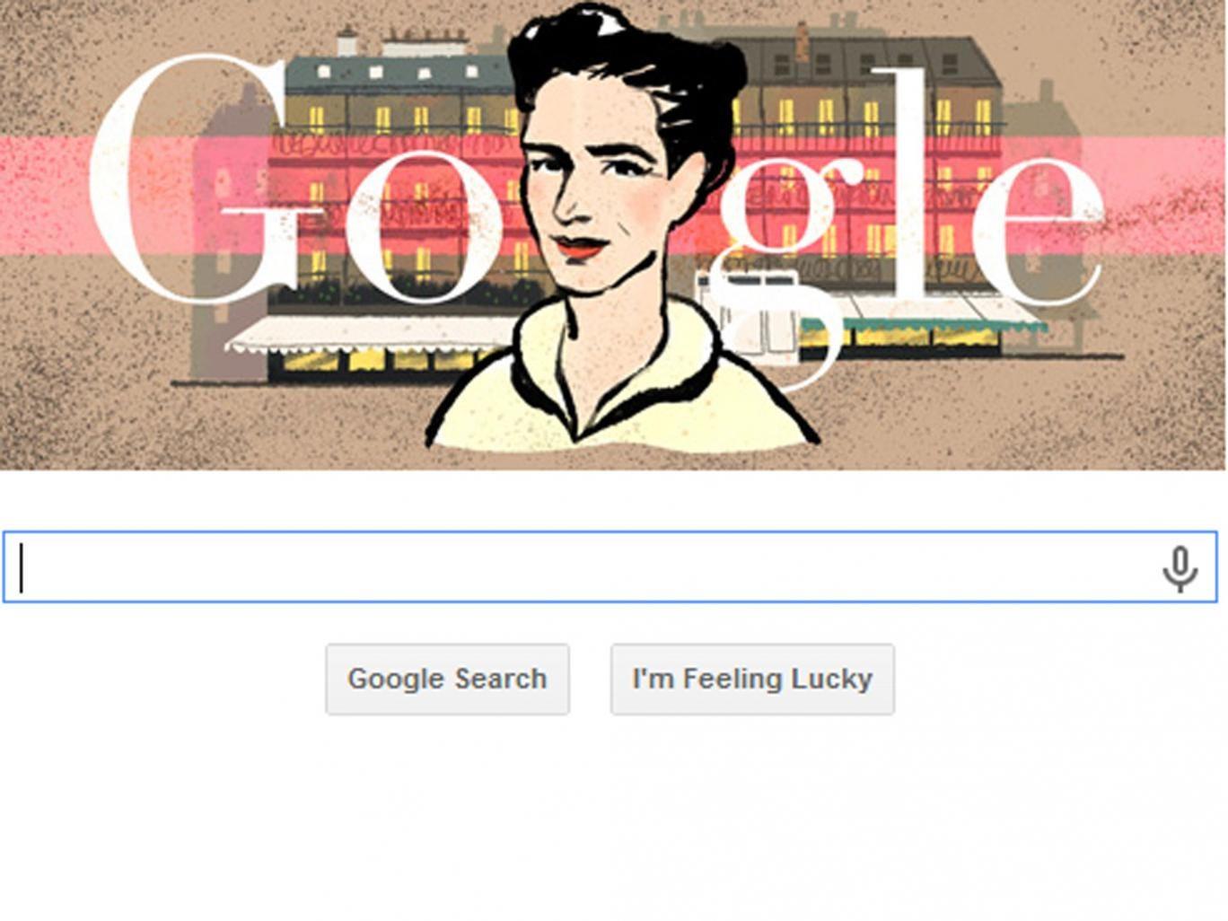 Google's tribute to French philosopher Simone de Beauvoir