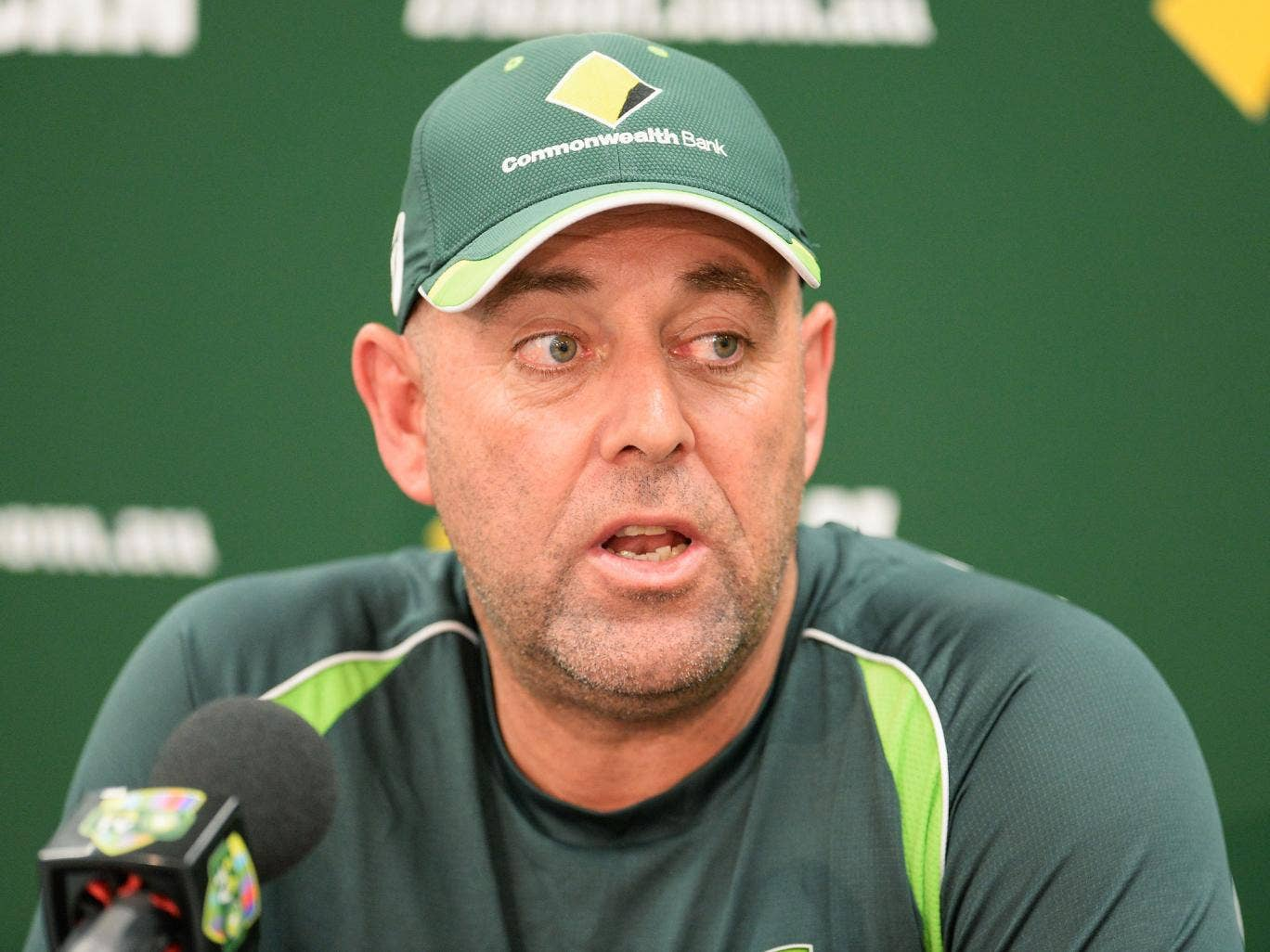 Australia coach Darren Lehmann has refused to comment on the Kevin Pietersen debacle as England's calamitous series continues