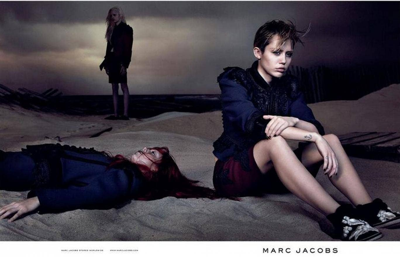 Miley Cyrus poses with 'dead girl' in new Marc Jacobs campaign