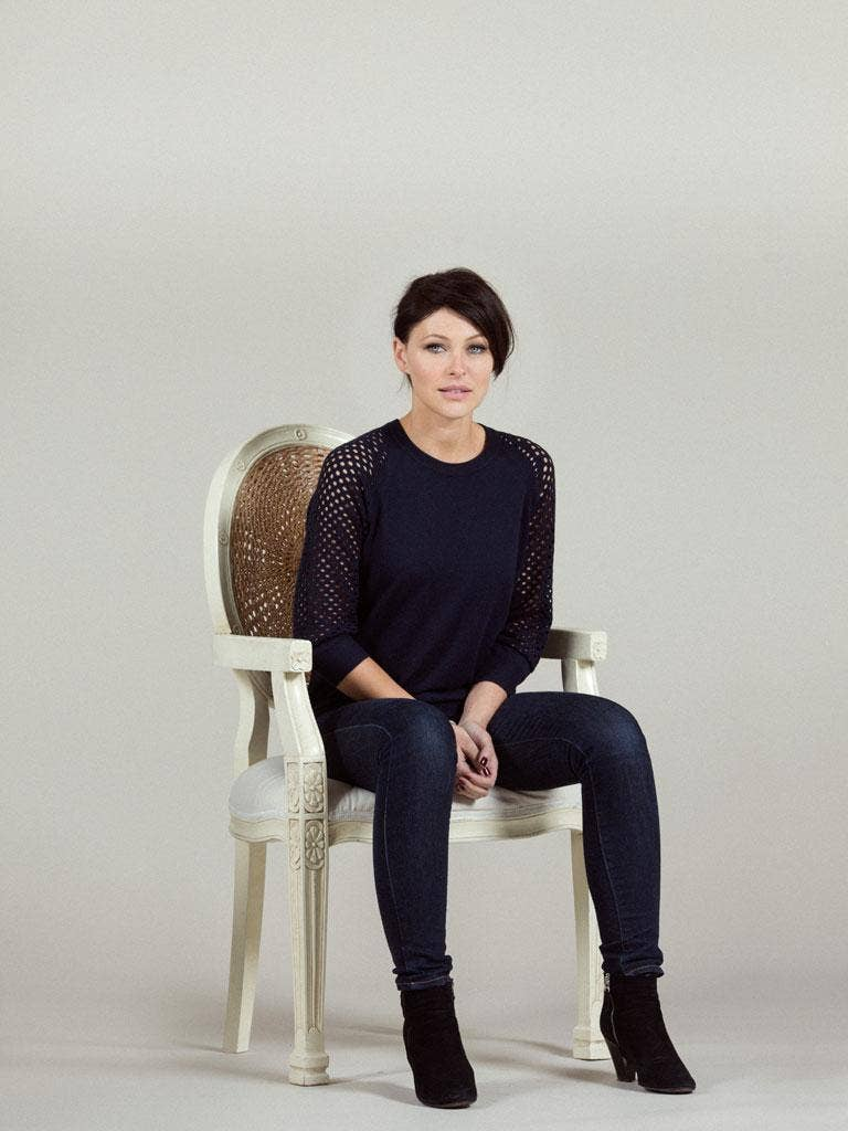 """Emma Willis: """"I remember in the beginning, oh, goodness, I was just terrible at presenting"""""""