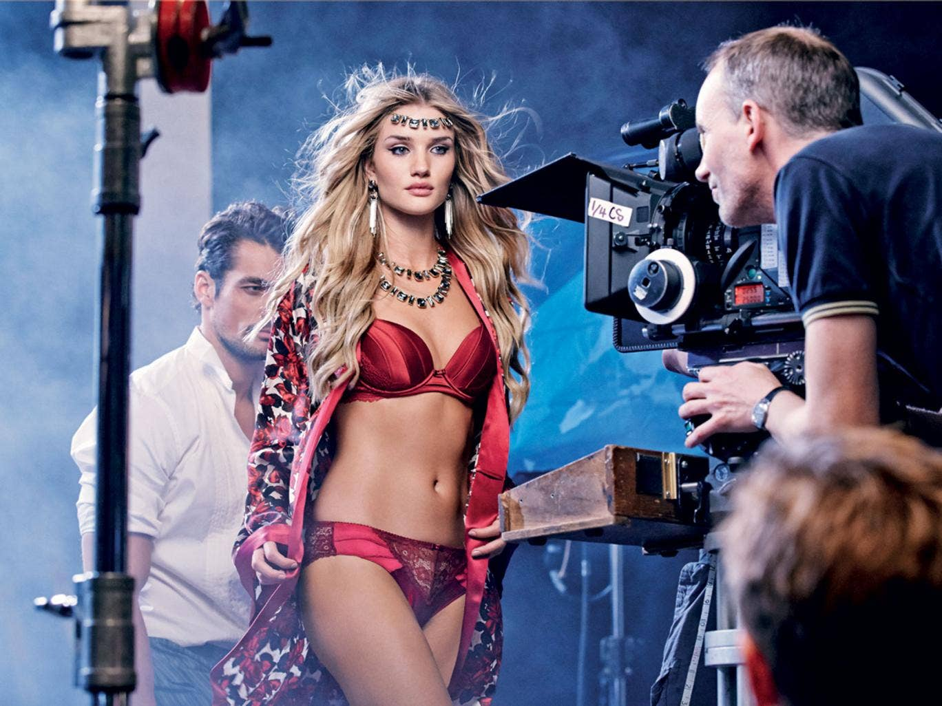 Even the model Rosie Huntington-Whitely couldn't help M&S's flagging sales