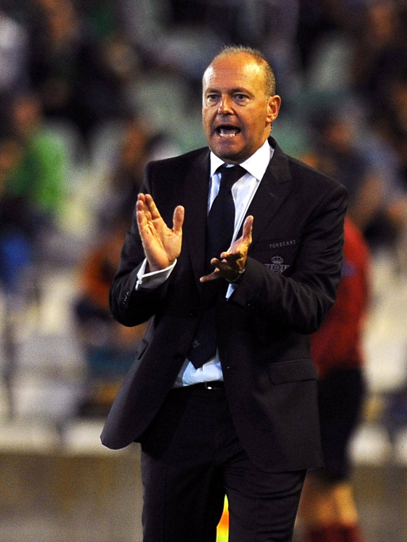 Pepe Mel was sacked by Real Betis six weeks ago