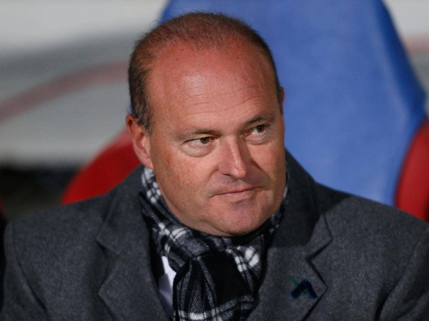 West Brom's new manager Pepe Mel will watch from the stands during Saturday's Premier League encounter with Southampton