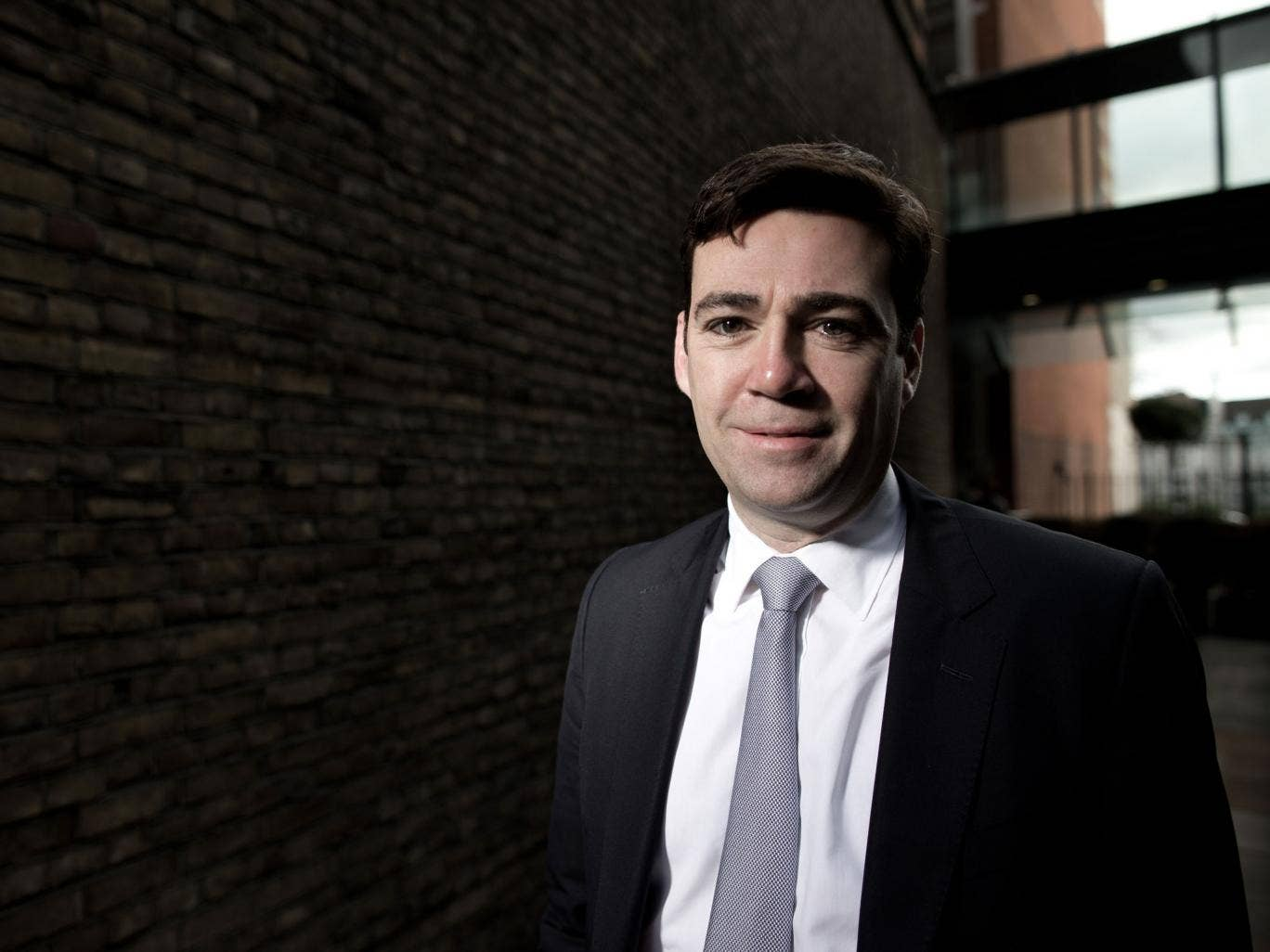 Andy Burnham MP, Shadow Secretary of State for Health. Photographed at Portcullis House