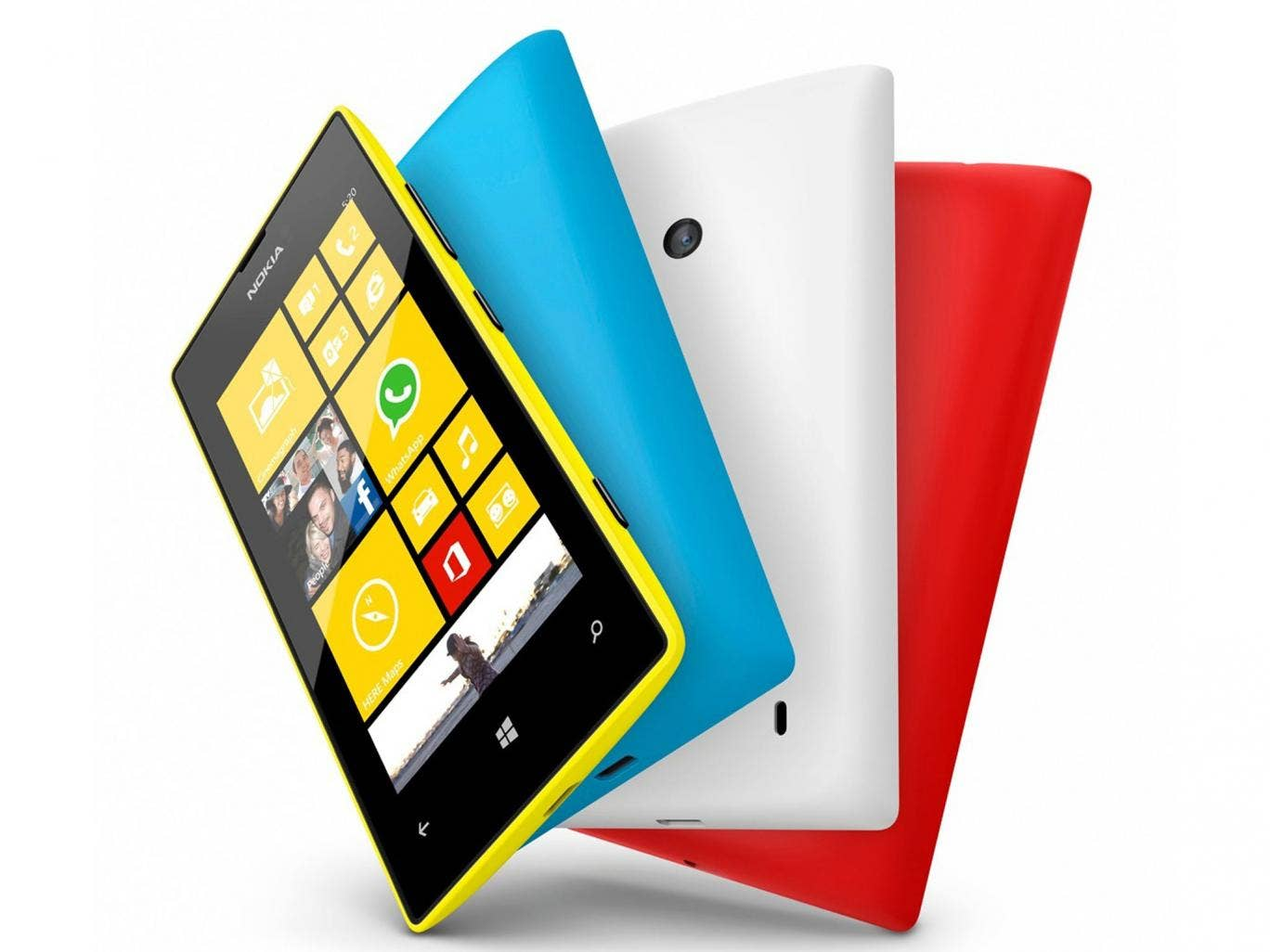 The Nokia Lumia 520 is on offer with an Xbox in a January sale