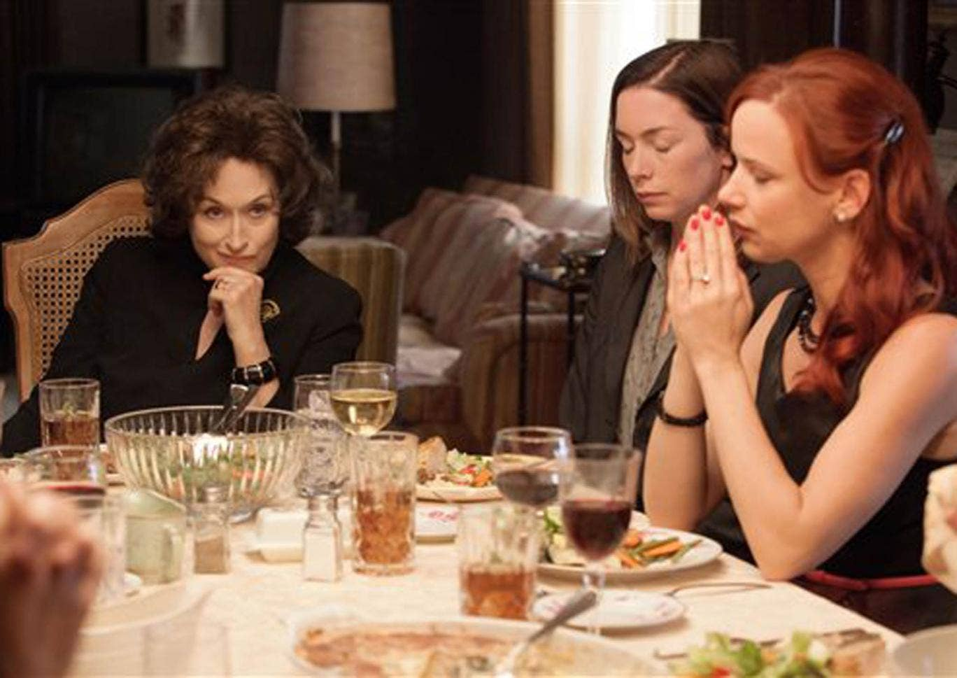 Meryl Streep, Julianne Nicholson and Juliette Lewis in August: Osage County