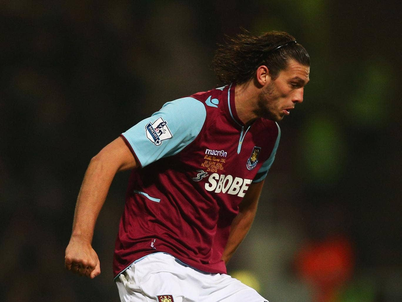 Andy Carroll has yet to make an appearance for West Ham since signing for £15m last summer