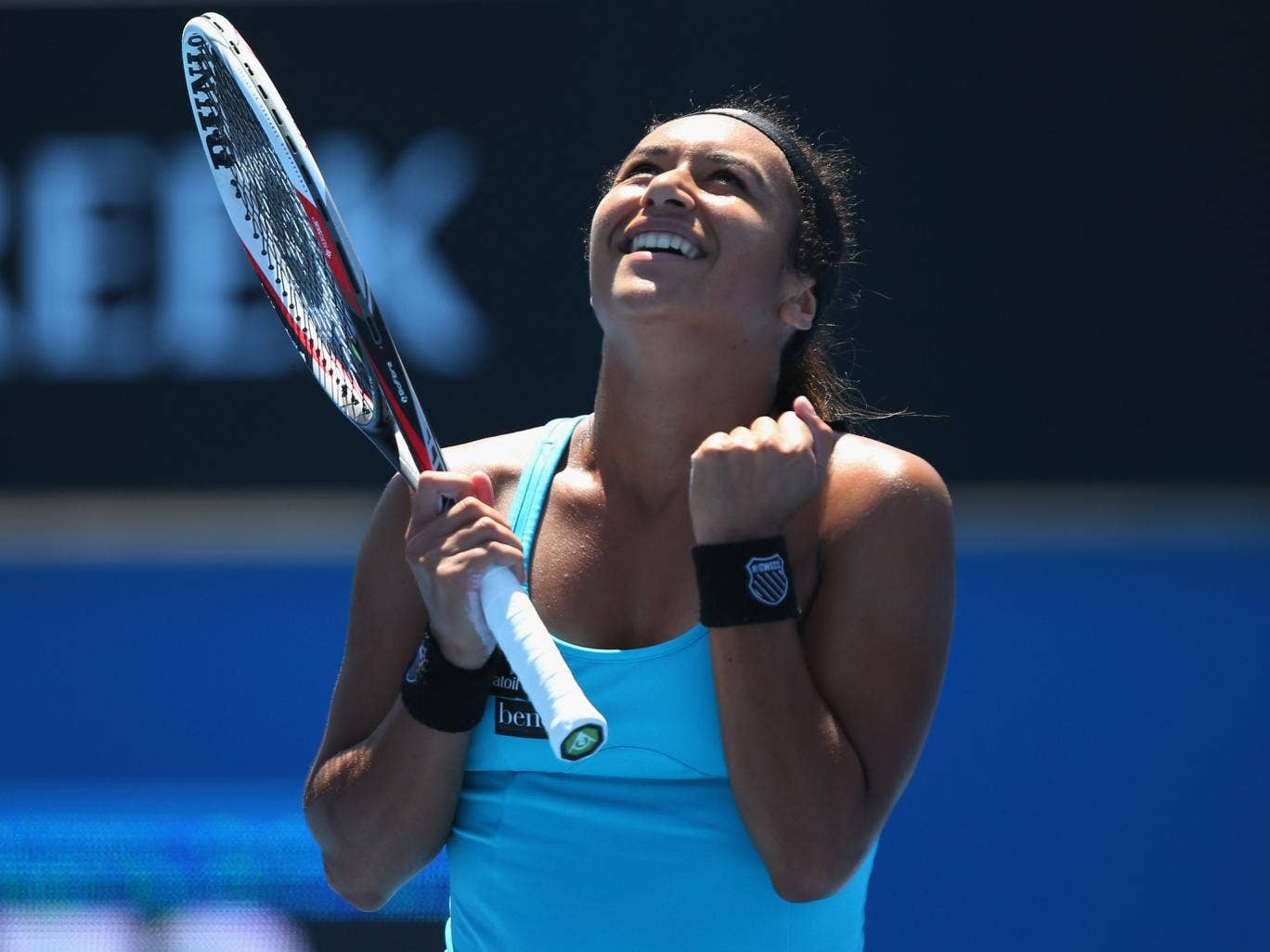 Heather Watson progressed tot he Australian Open main draw after beating Irina Falconi