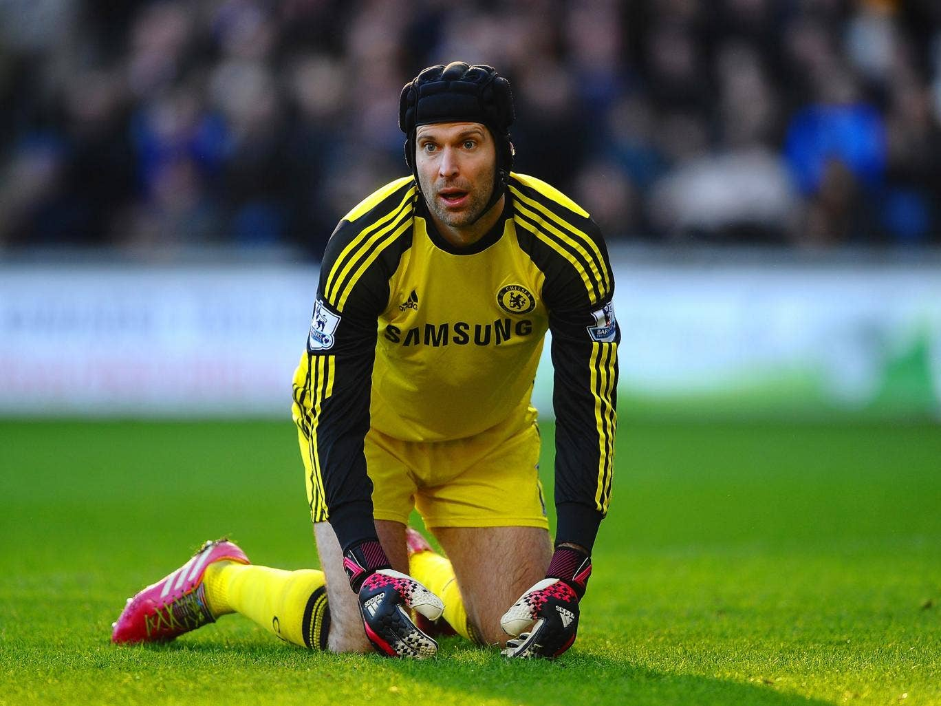 Petr Cech surpassed Peter Bonetti's Chelsea record for the most clean sheets with his 209th for the club