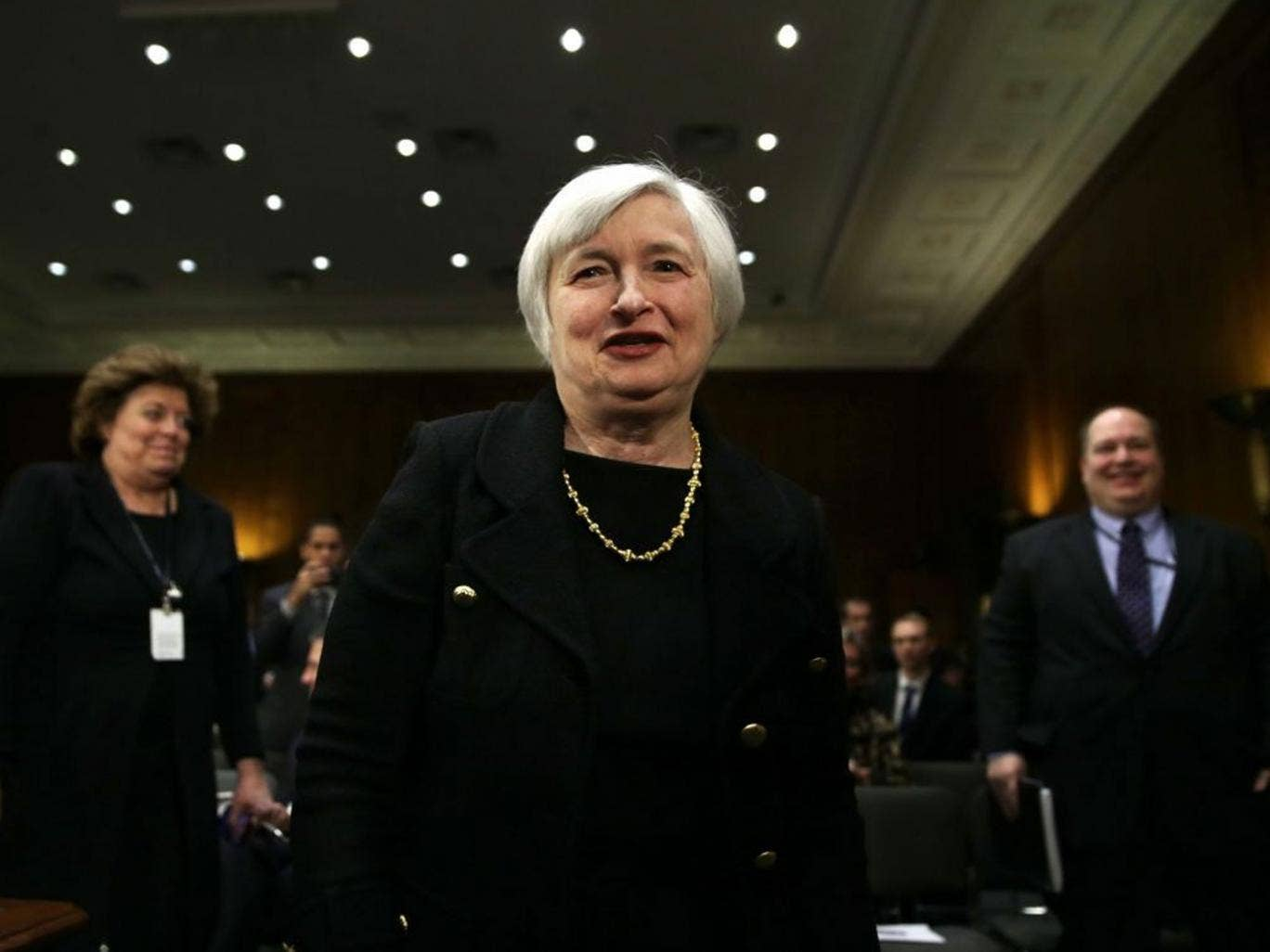 The new chair of the Federal Reserve Janet Yellen