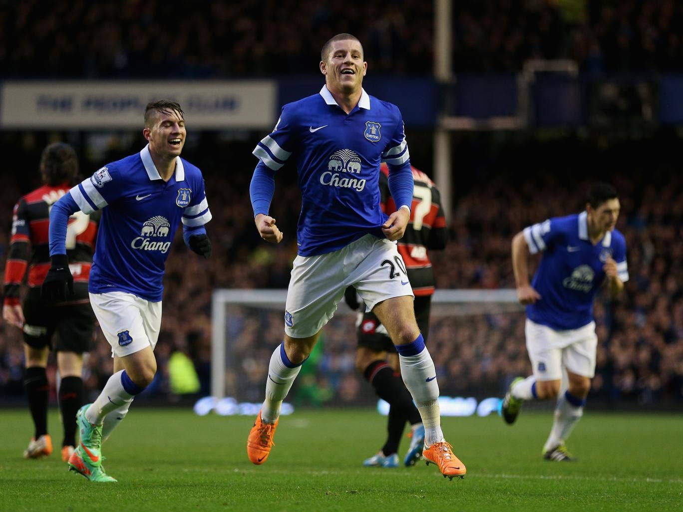 Ross Barkley has suffered a possible broken toe after missing Everton's 2-0 win over Norwich