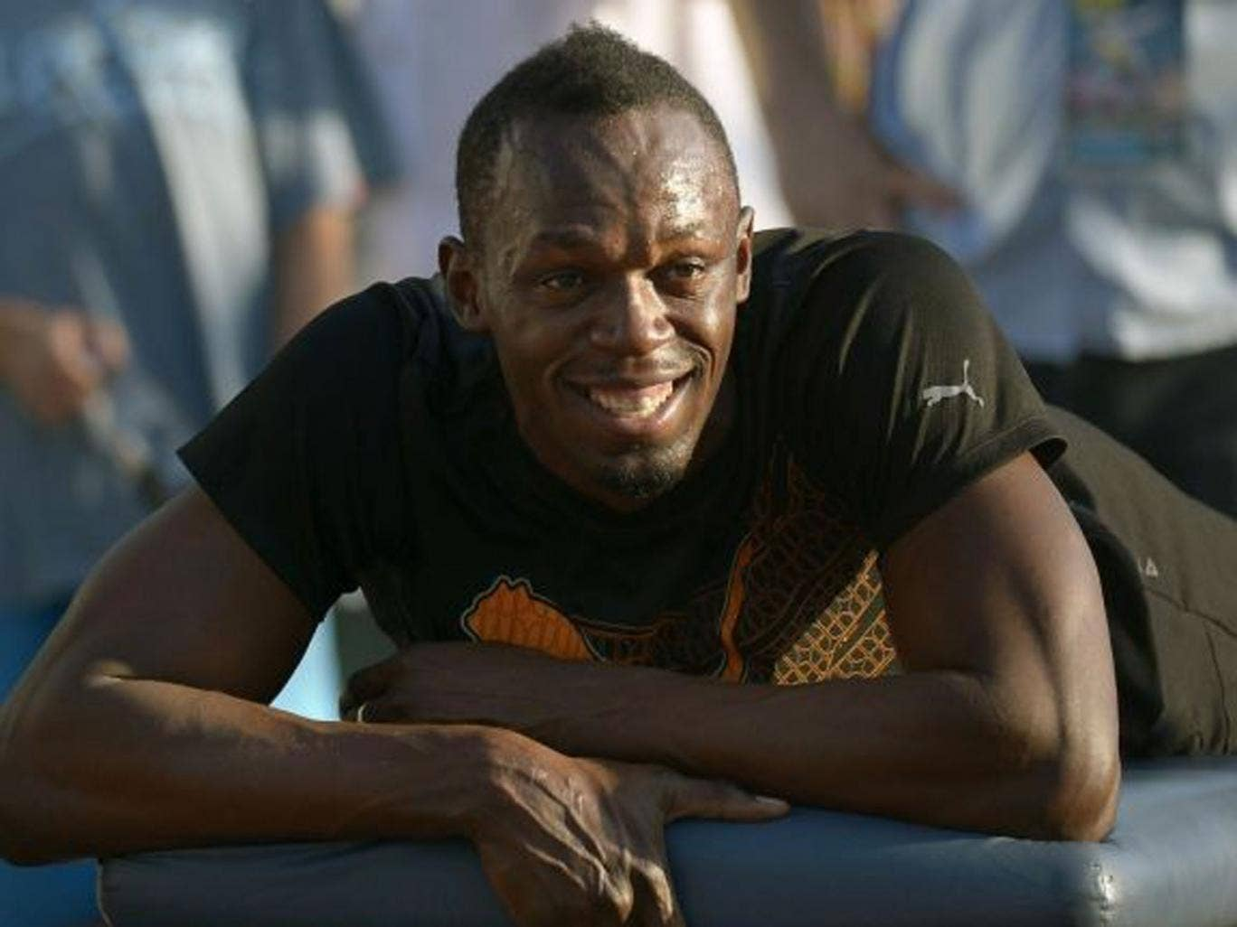 Bolt has welcomed the new rule that may see athletes hair tested