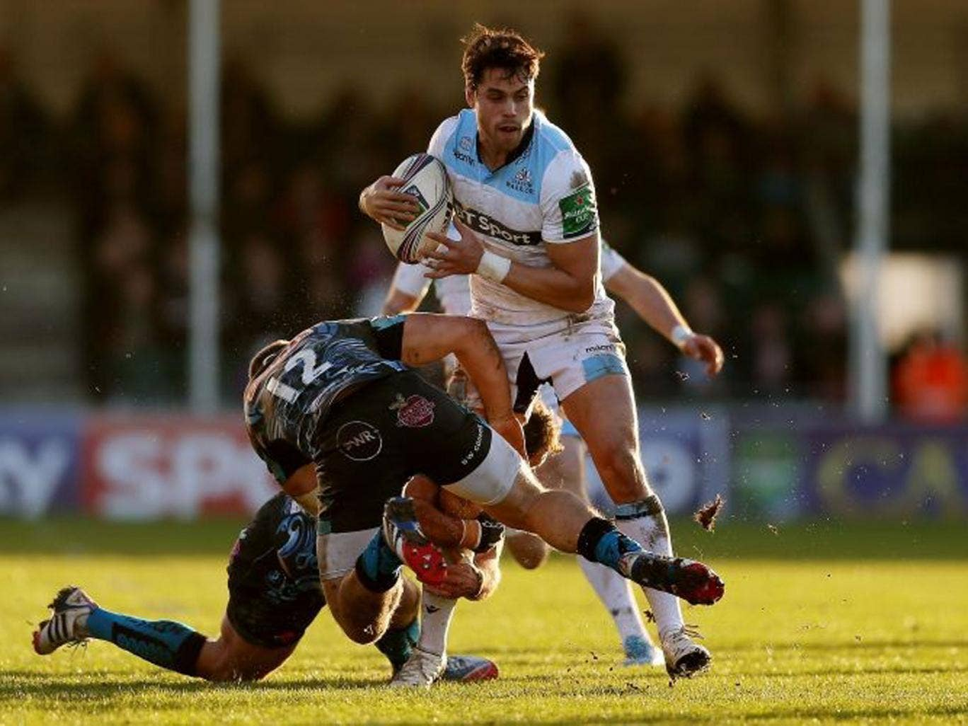 Sean Maitland of Glasgow in action