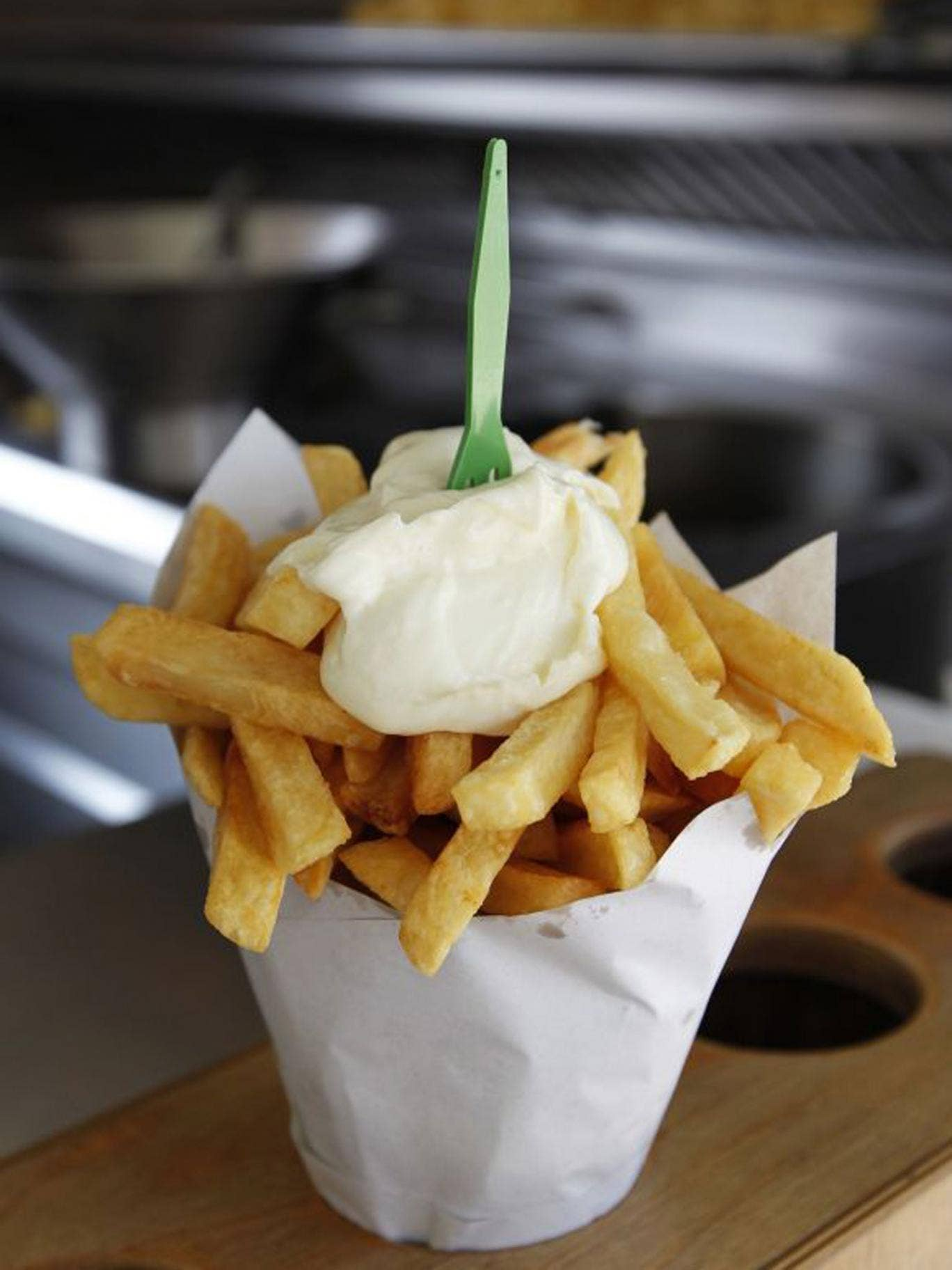 It is the Belgians who have truly embraced the humble frite