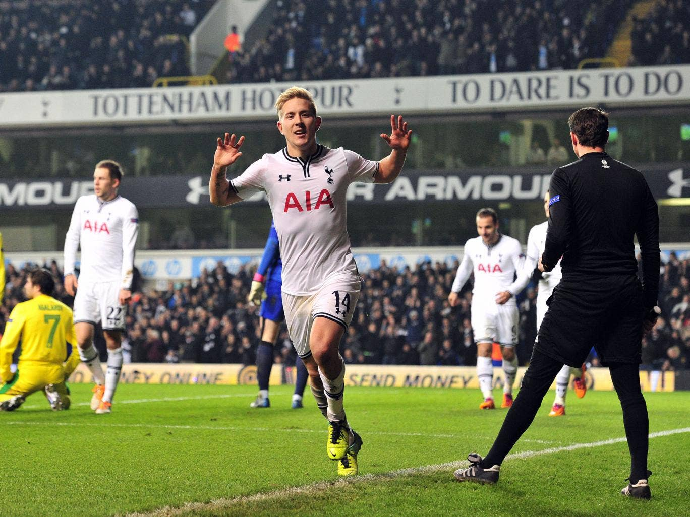 Tottenham midfielder Lewis Holtby could return to his former club Schalke