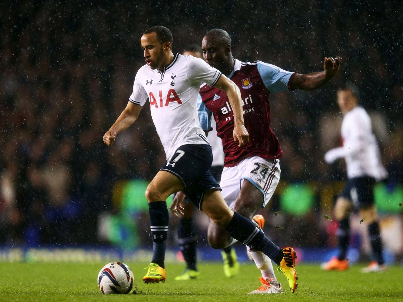 Andros Townsend is nearing a Tottenham comeback after recovering from a hamstring injury
