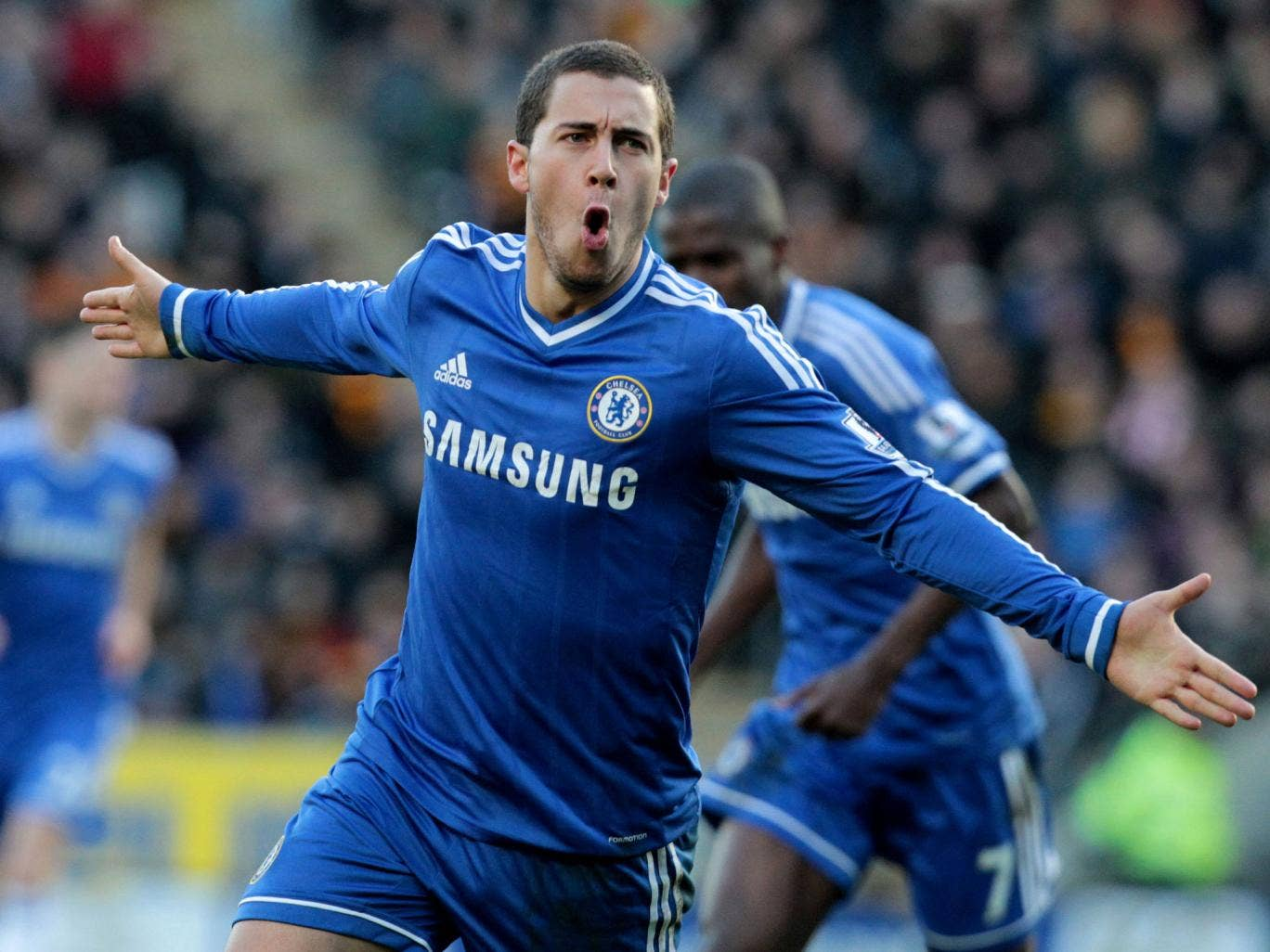 Eden Hazard has been tipped by his Chelsea manager to become one of the best players in the world as long as he remains in the Premier League