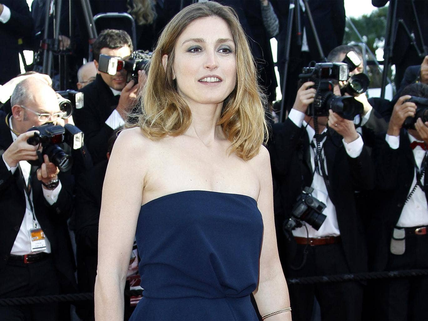 French press said that Mr Hollande's affair with Julie Gayet started more than two years ago