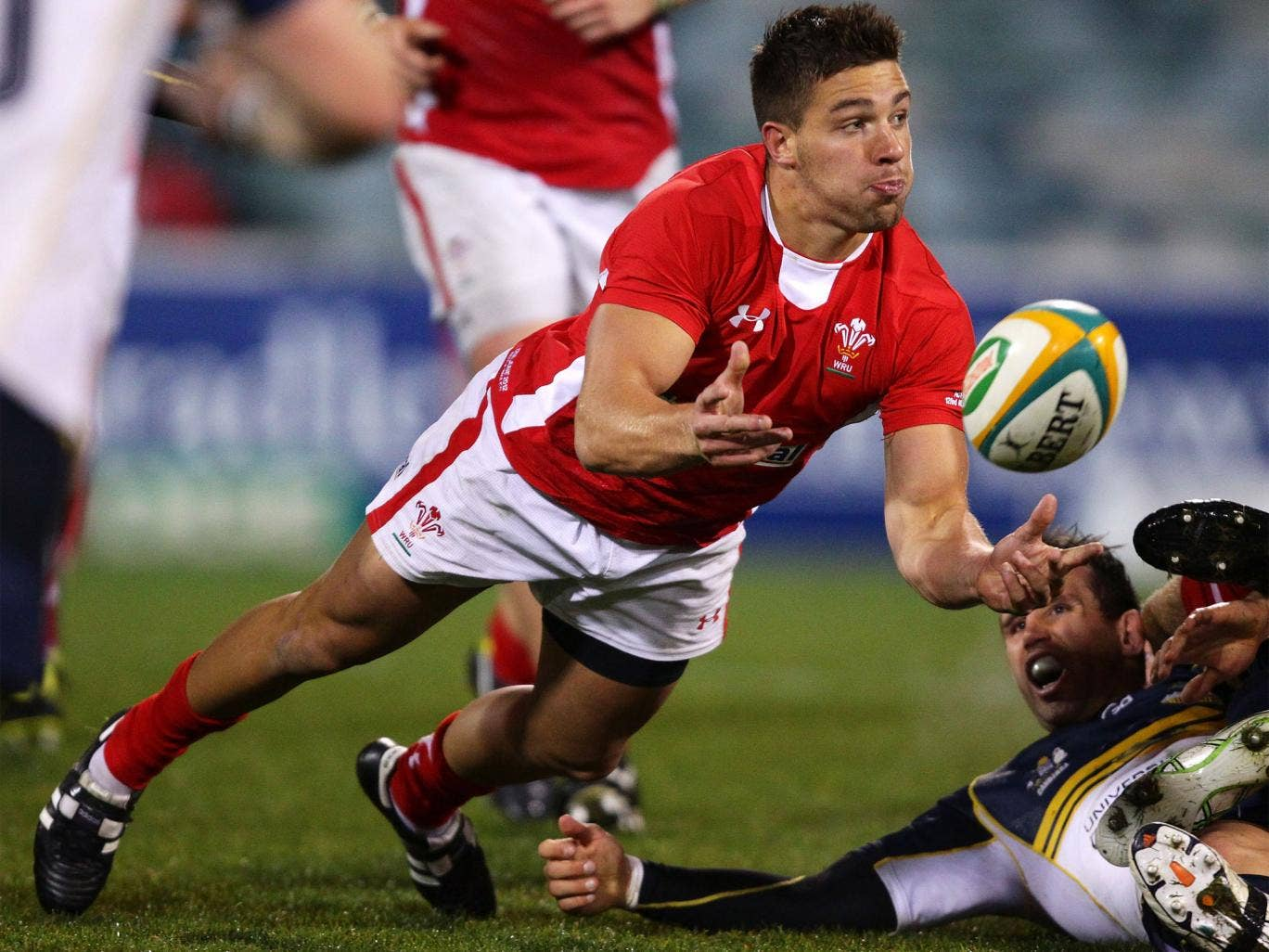 Rhys Webb has overtaken Lloyd Williams in the race to be Wales' scrum-half