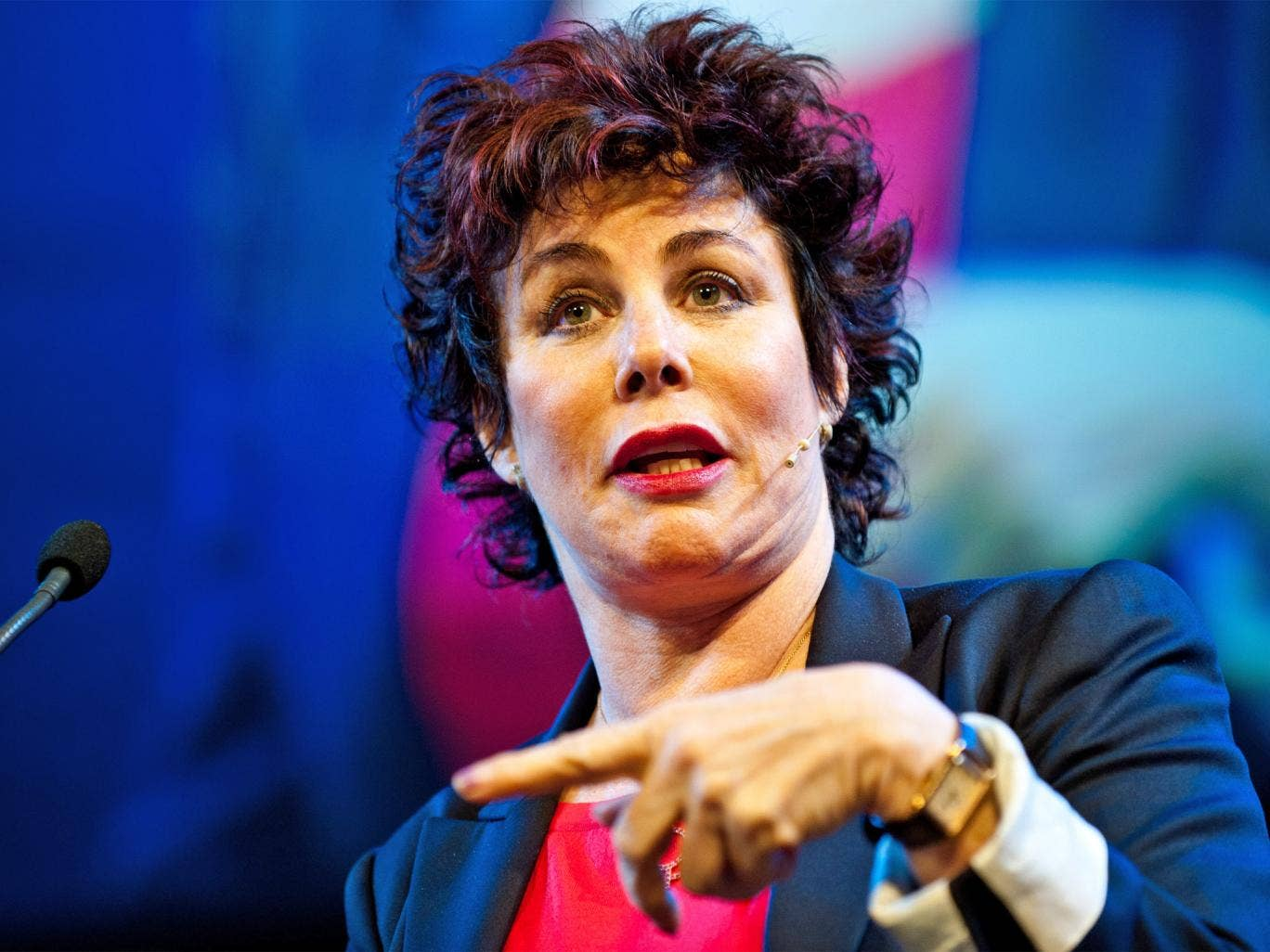 Comedian Ruby Wax has talked openly about her depression
