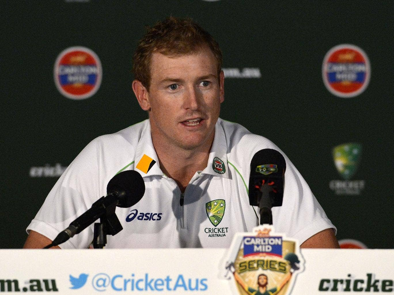 Australia batsman George Bailey has admitted taking some 'pride' in seeing England struggle