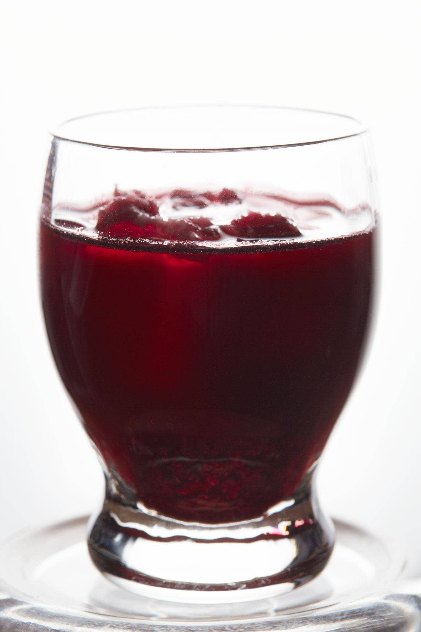 Serve beetroot and vodka shots with caviar or as a shot at a cocktail party