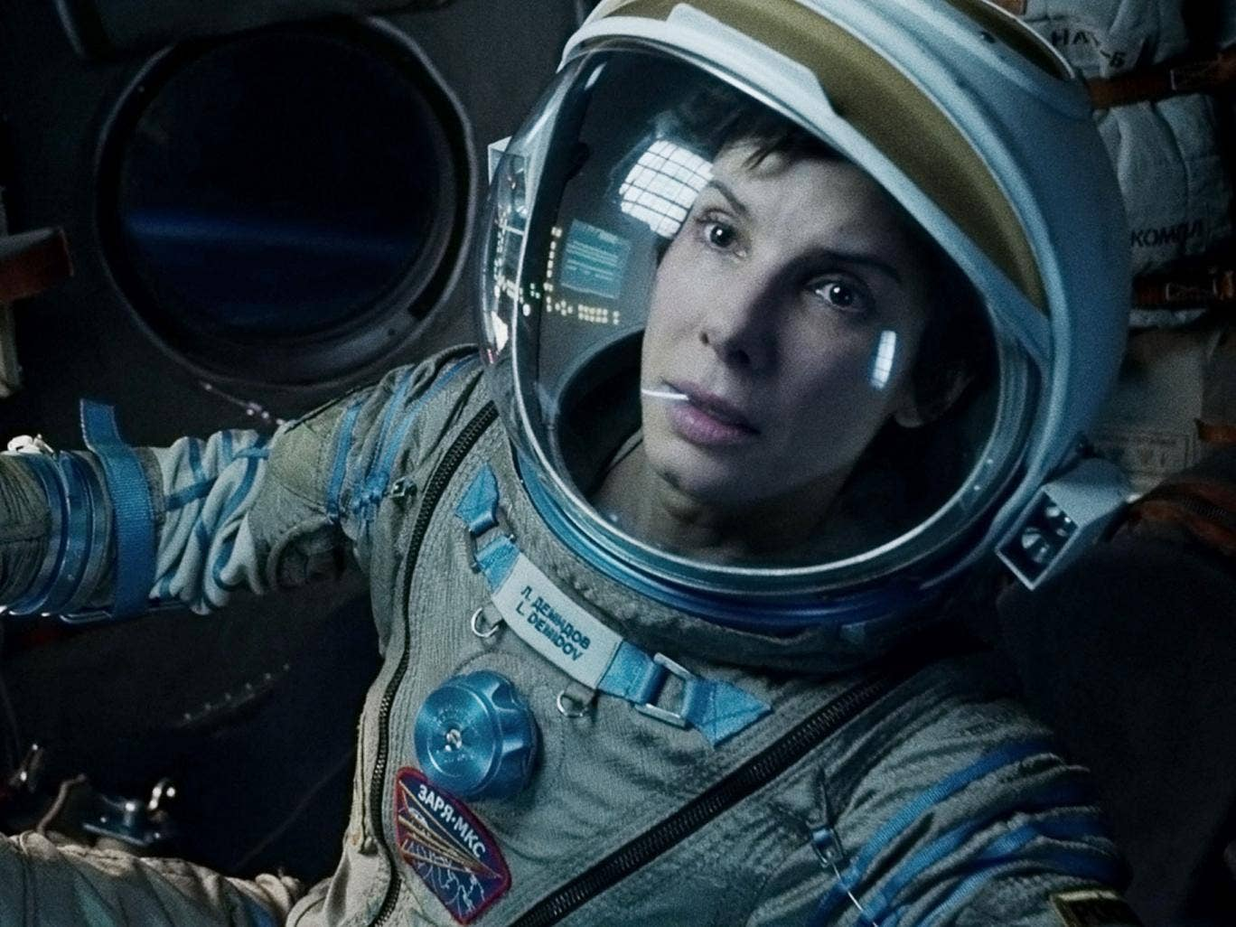 What's a girl like you doing in a space like this? 'Gravity' has been nominated for an Oscar