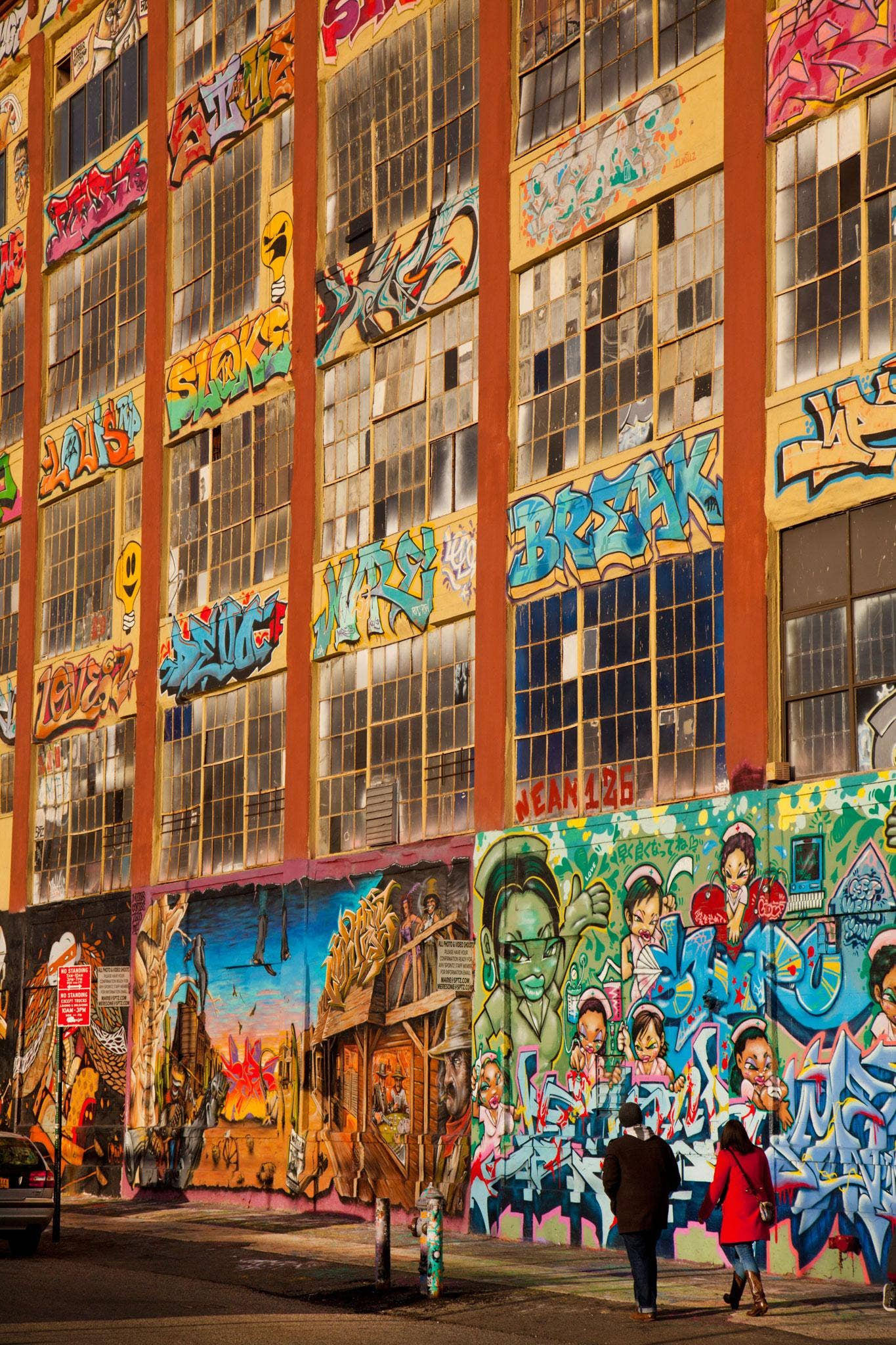 American graffiti: Five Pointz building, in Queens, New York