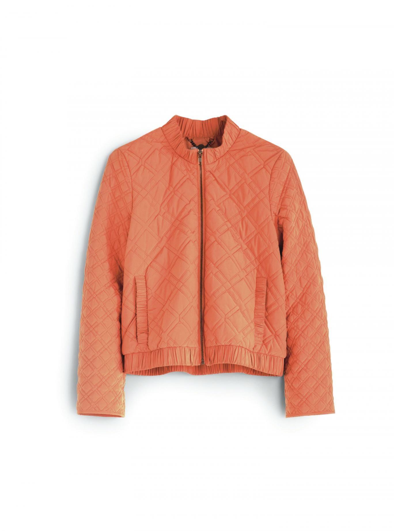 Peachy: Hobbs quilted jacket, £129, hobbs.co.uk