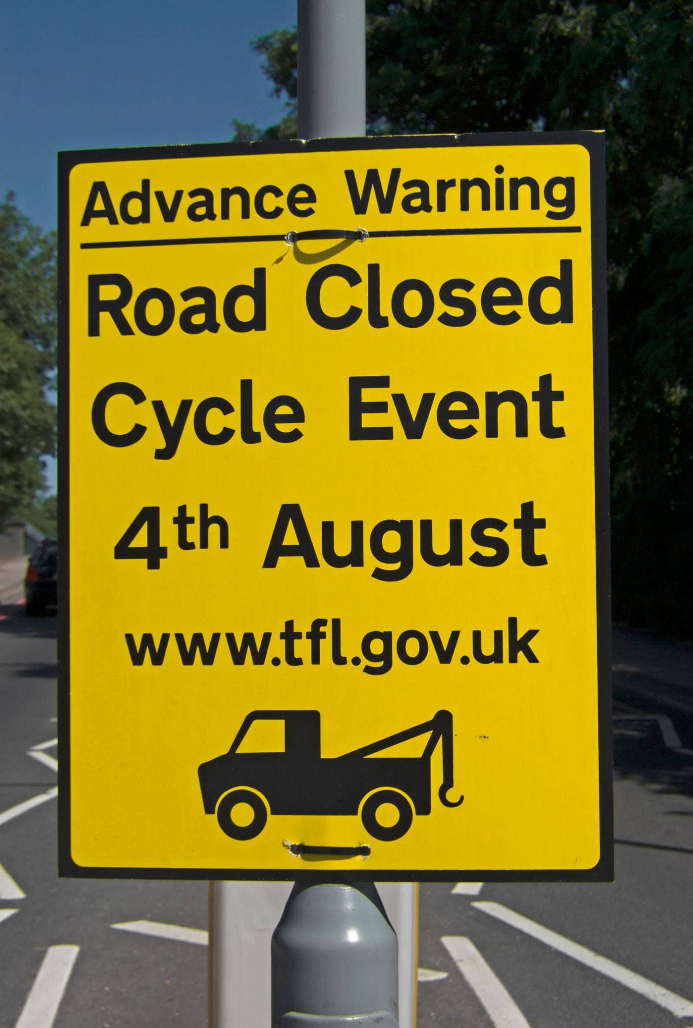 Sign of the times: Advance warning, nominated by Archie Bland