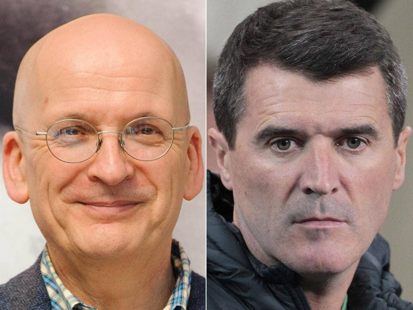 Roddy Doyle and Roy Keane as 'The Commitments' author Doyle has signed a deal to work with Keane to write the footballer's autobiography