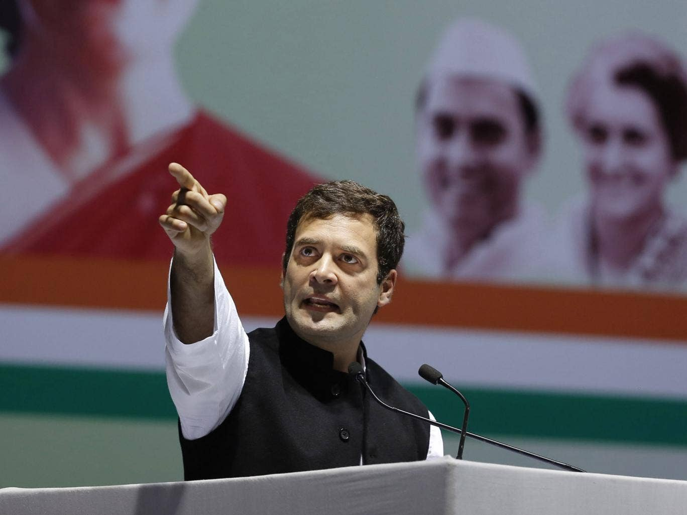 Rahul Gandhi has described himself as a warrior 'ready to go into battle'
