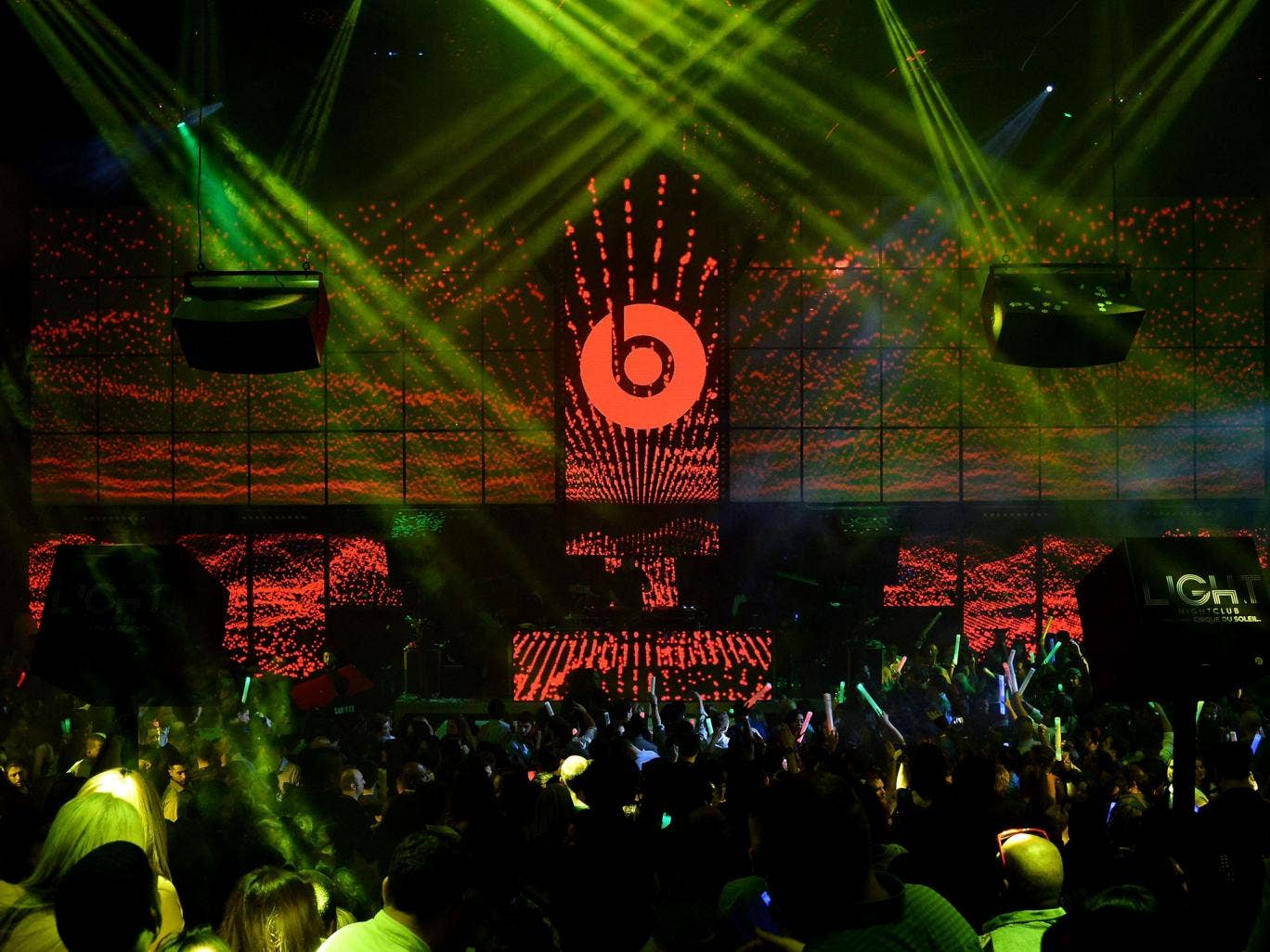 A Beats by Dr Dre event in Las Vegas. The rap star is launching his own streaming service