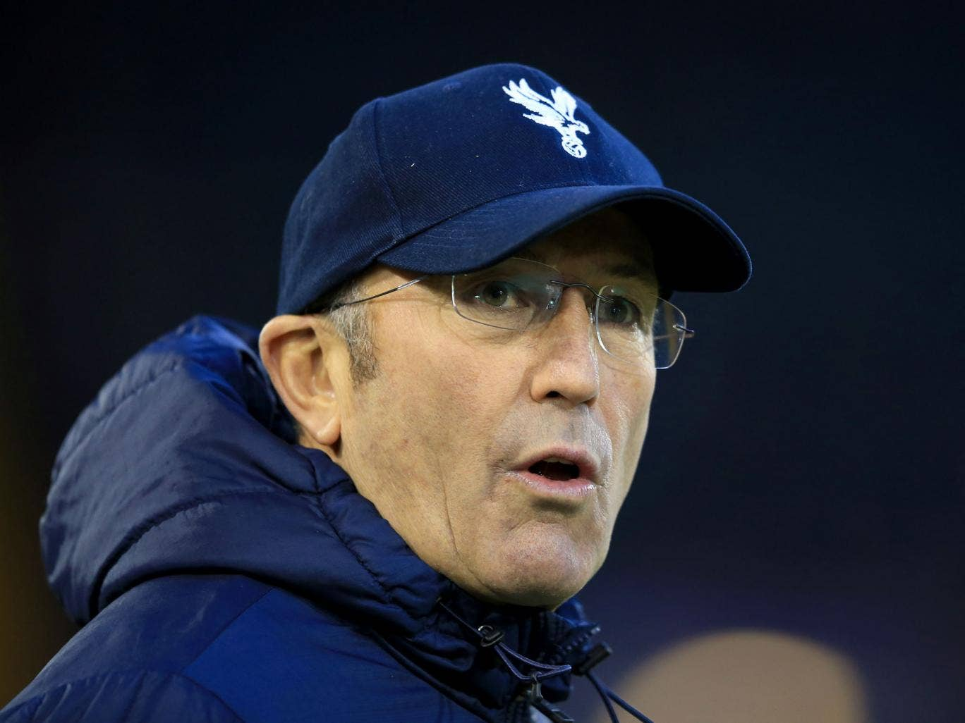 Tony Pulis has been disappointed at the failure to reinforce a team that sits bottom of the table