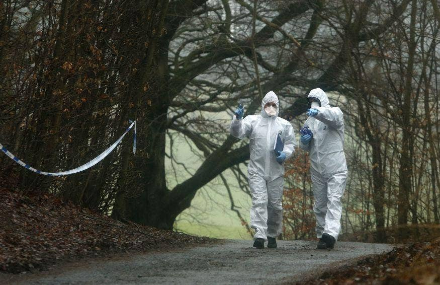 Assistant Chief Constable Malcolm Graham said the body of a young child was recovered in Fife just before midnight. Forensics were later on site