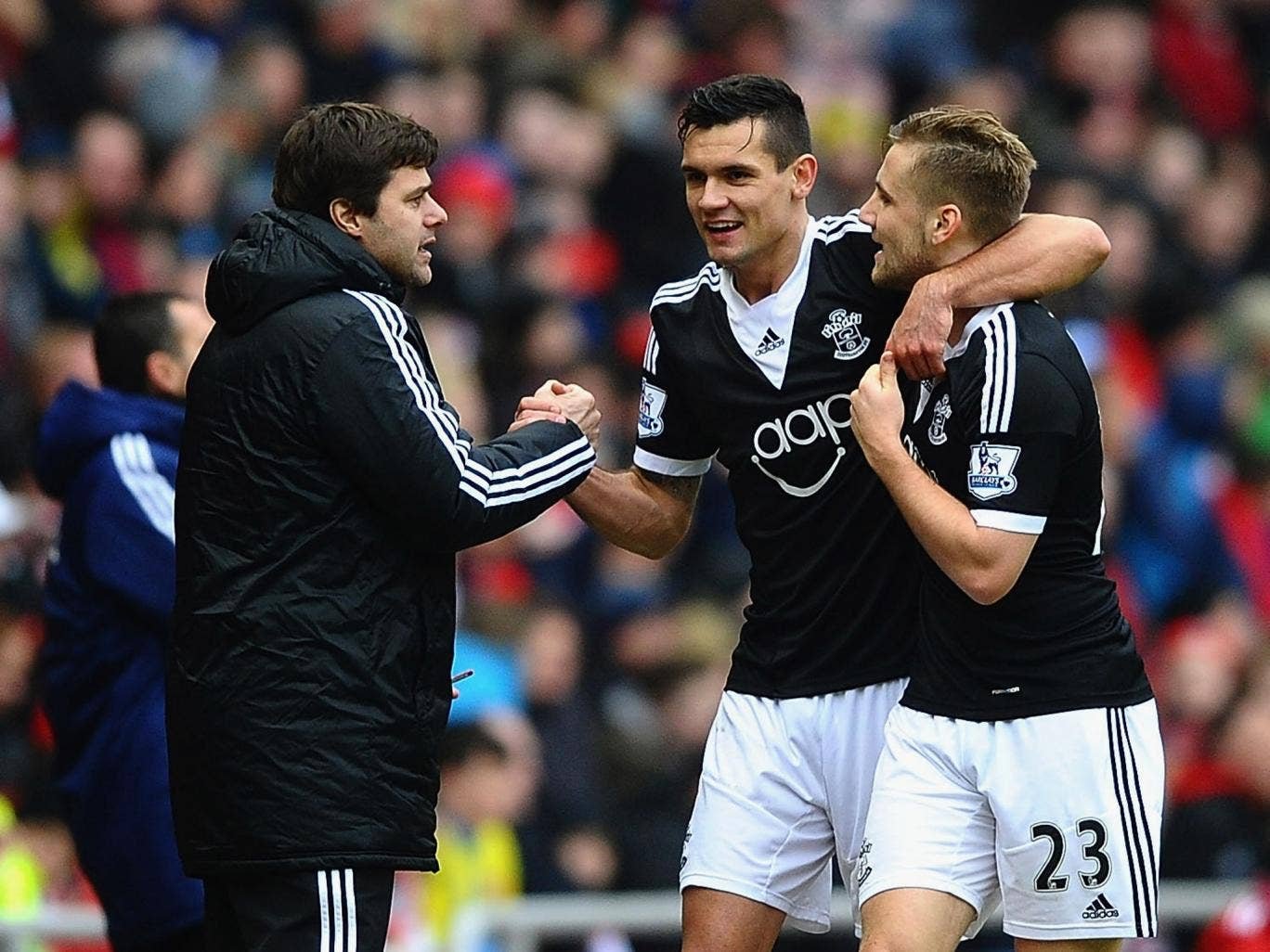 Mauricio Pochettino has reassured his squad that he will be staying following the 2-2 draw with Sunderland