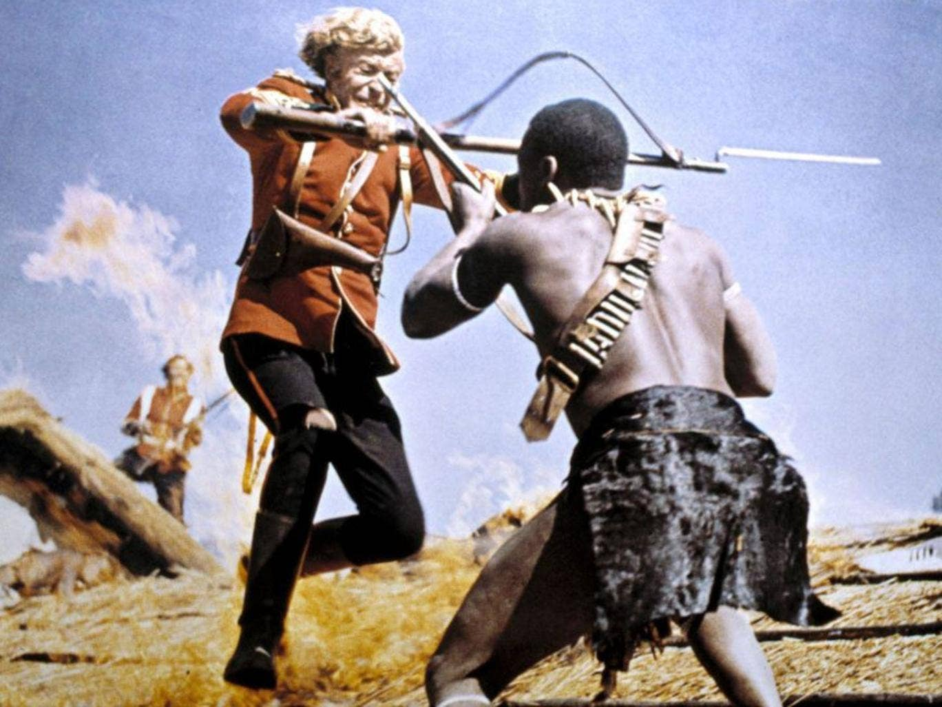 Thin red line: Michael Caine in Zulu