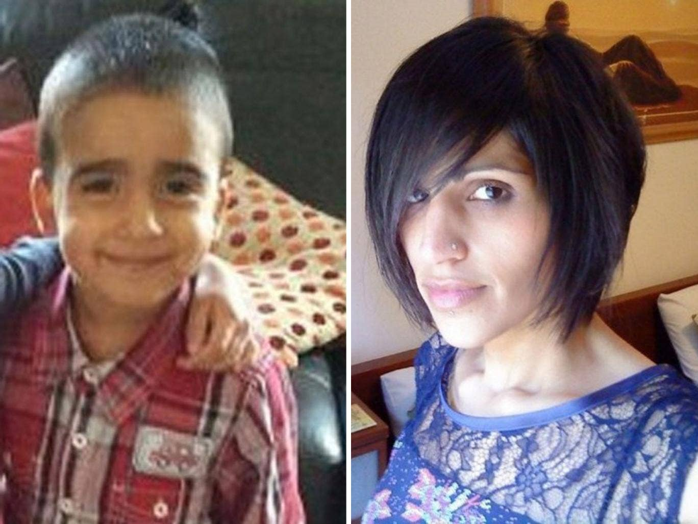 Three-year-old Mikaeel Kular and his mother Rosdeep, 33, who has been arrested and charged 'in connection to his death'