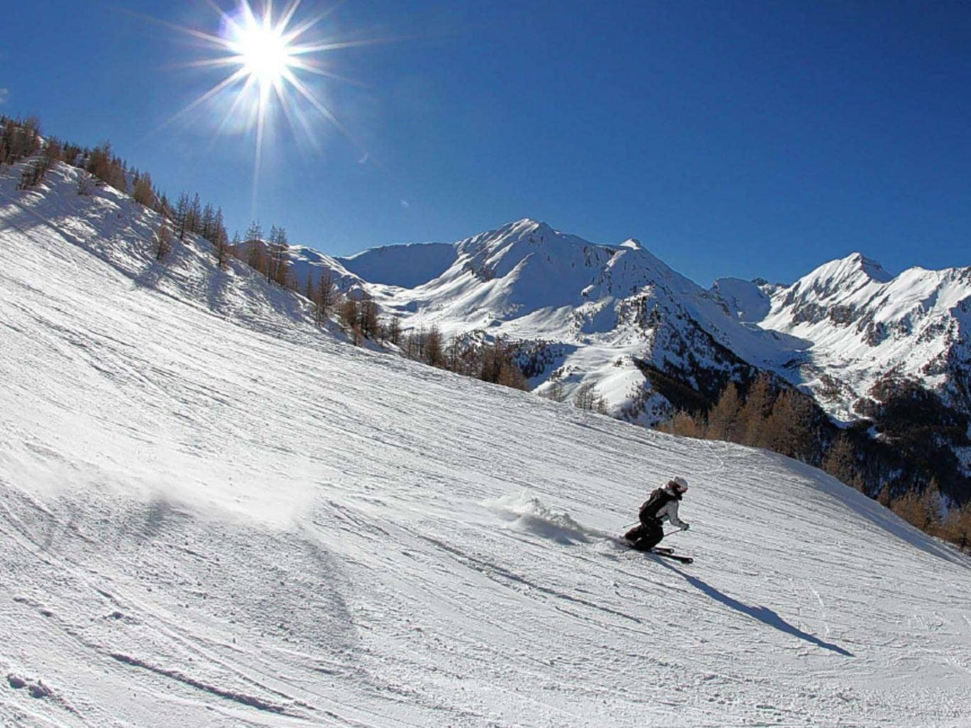 Small wonder: Les Orres, in the Hautes-Alpes