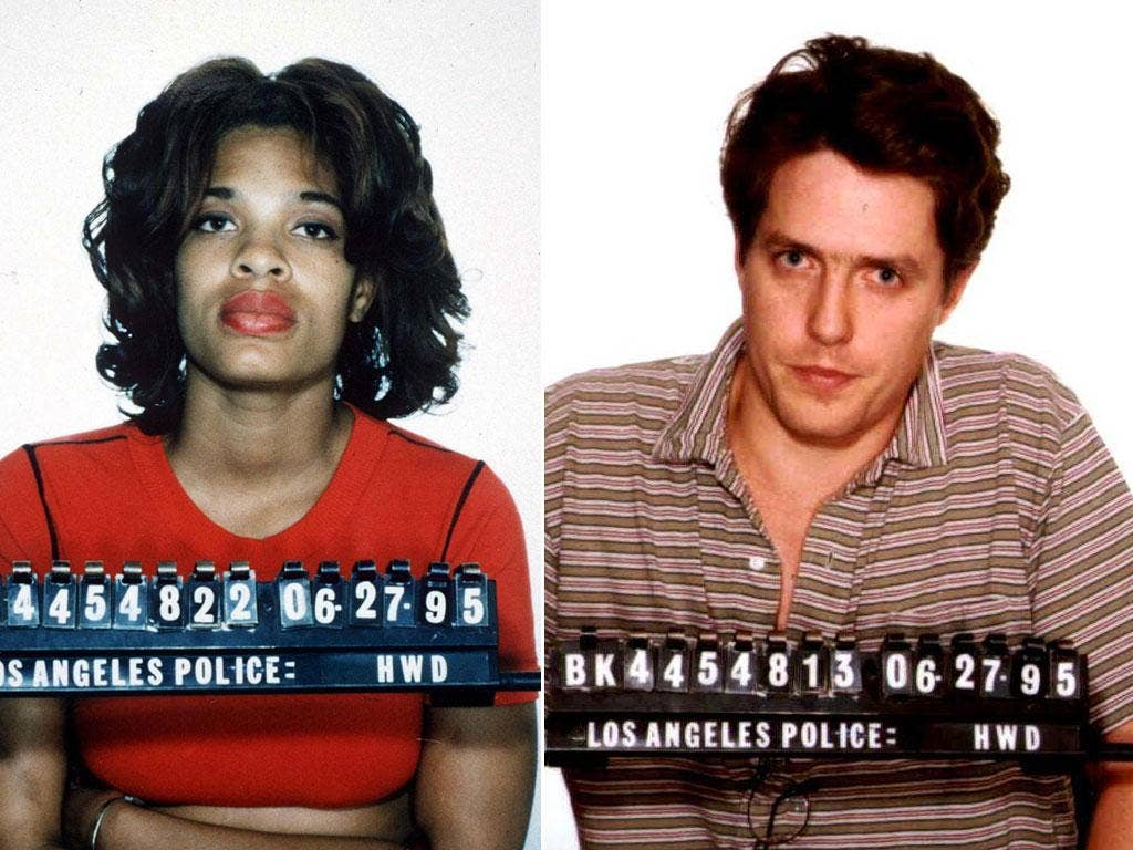 Hugh b Brown Divine Brown And Hugh Grant